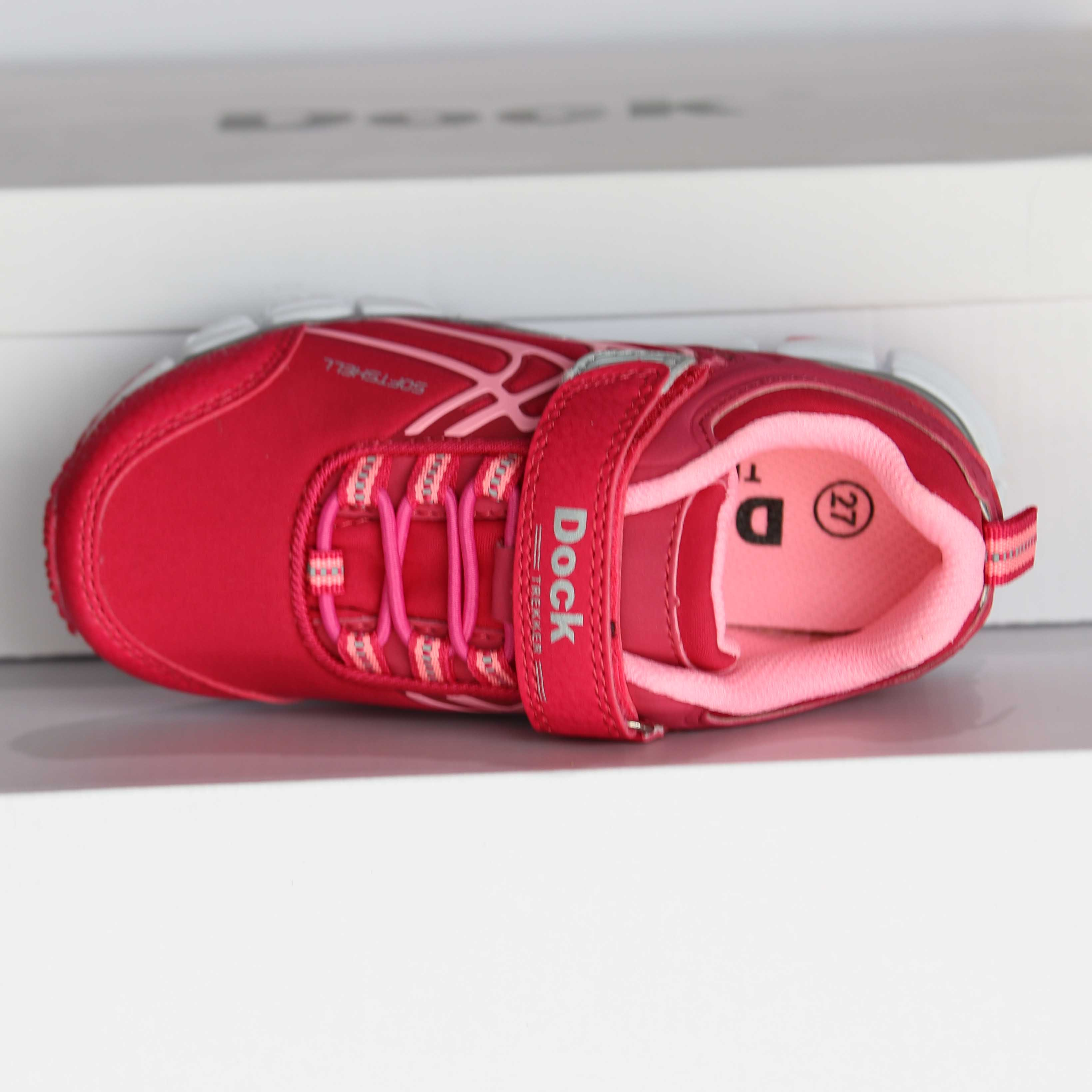 dock sneakers softshell rosa 051 5312
