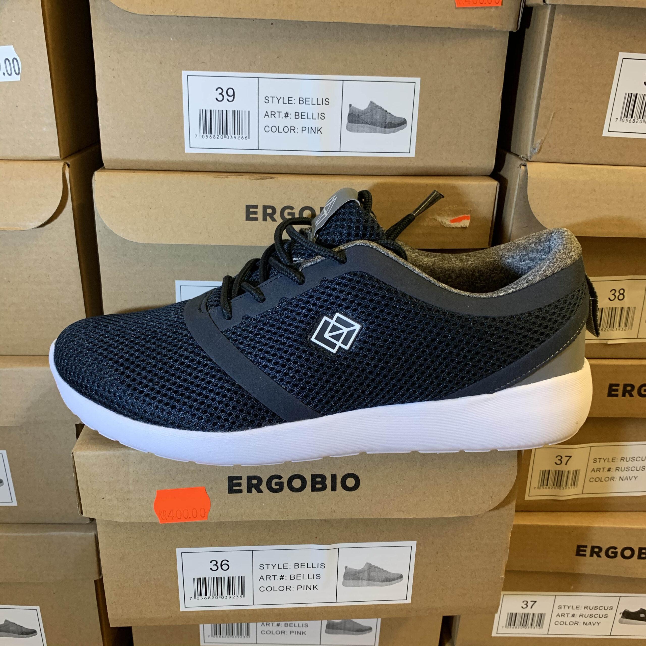 Ergobio Sneakers Ruscus blå Dame