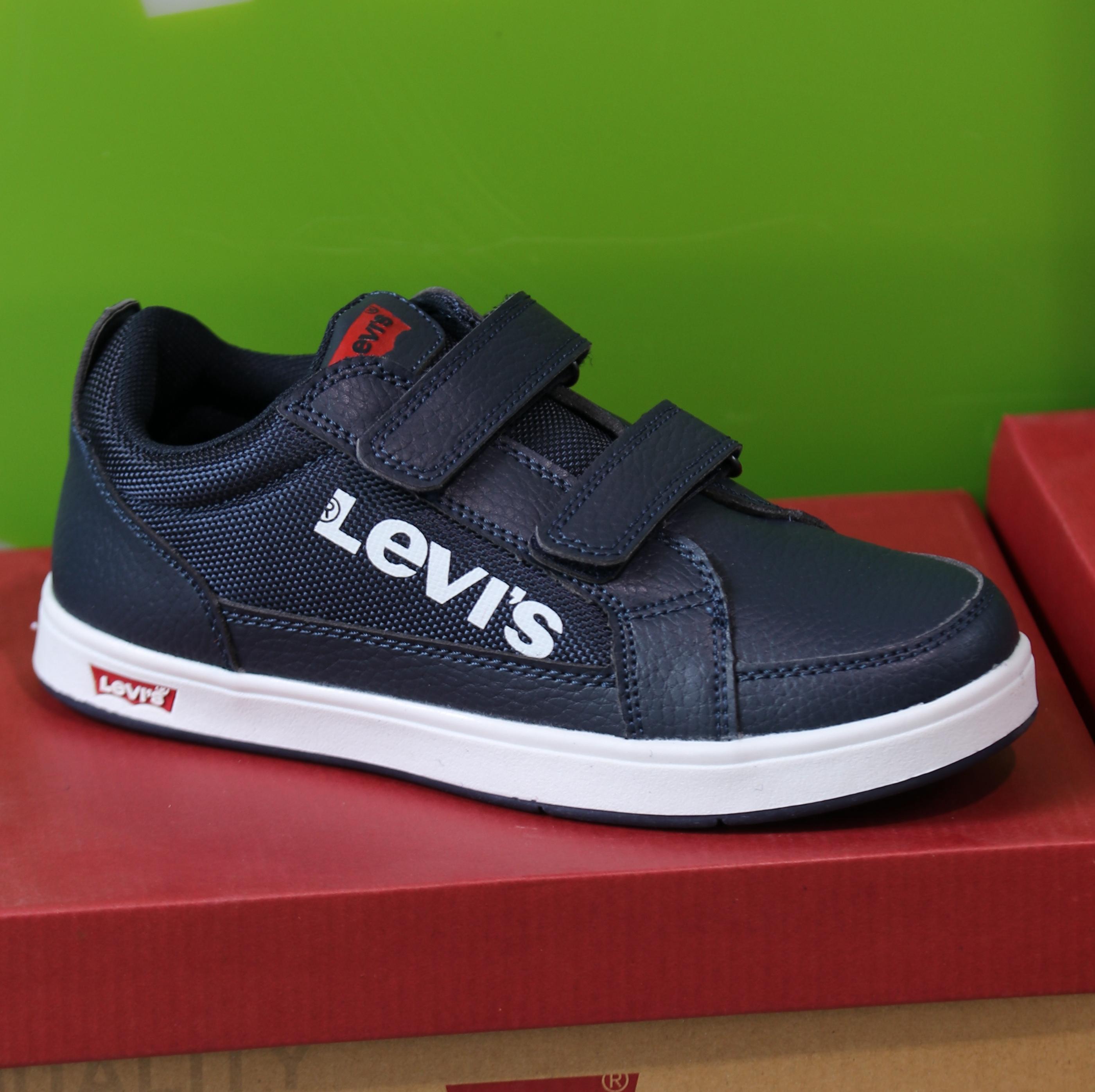 levis – sneakers denver blå1