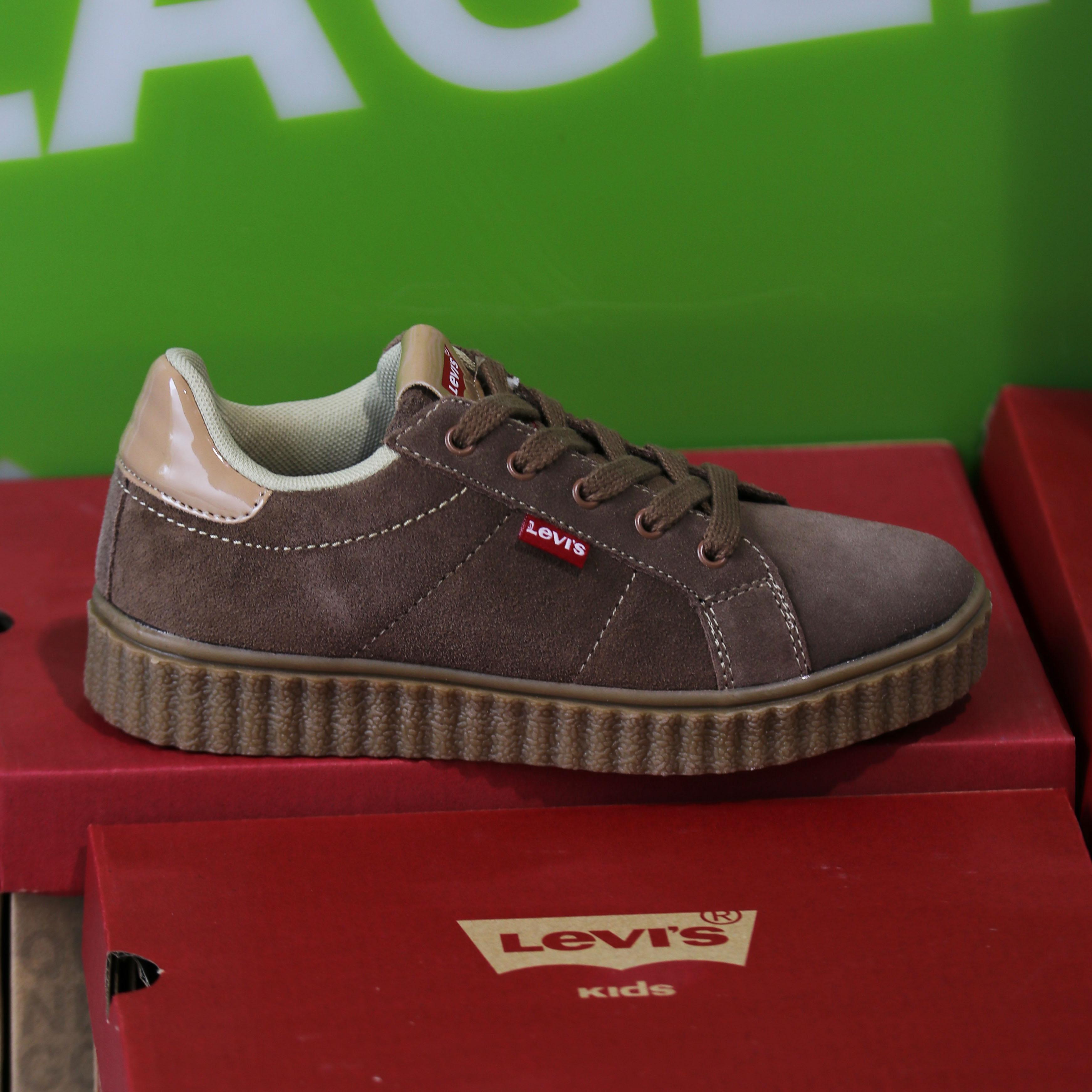 levis kids – new england brun sko barn dame sneakers1