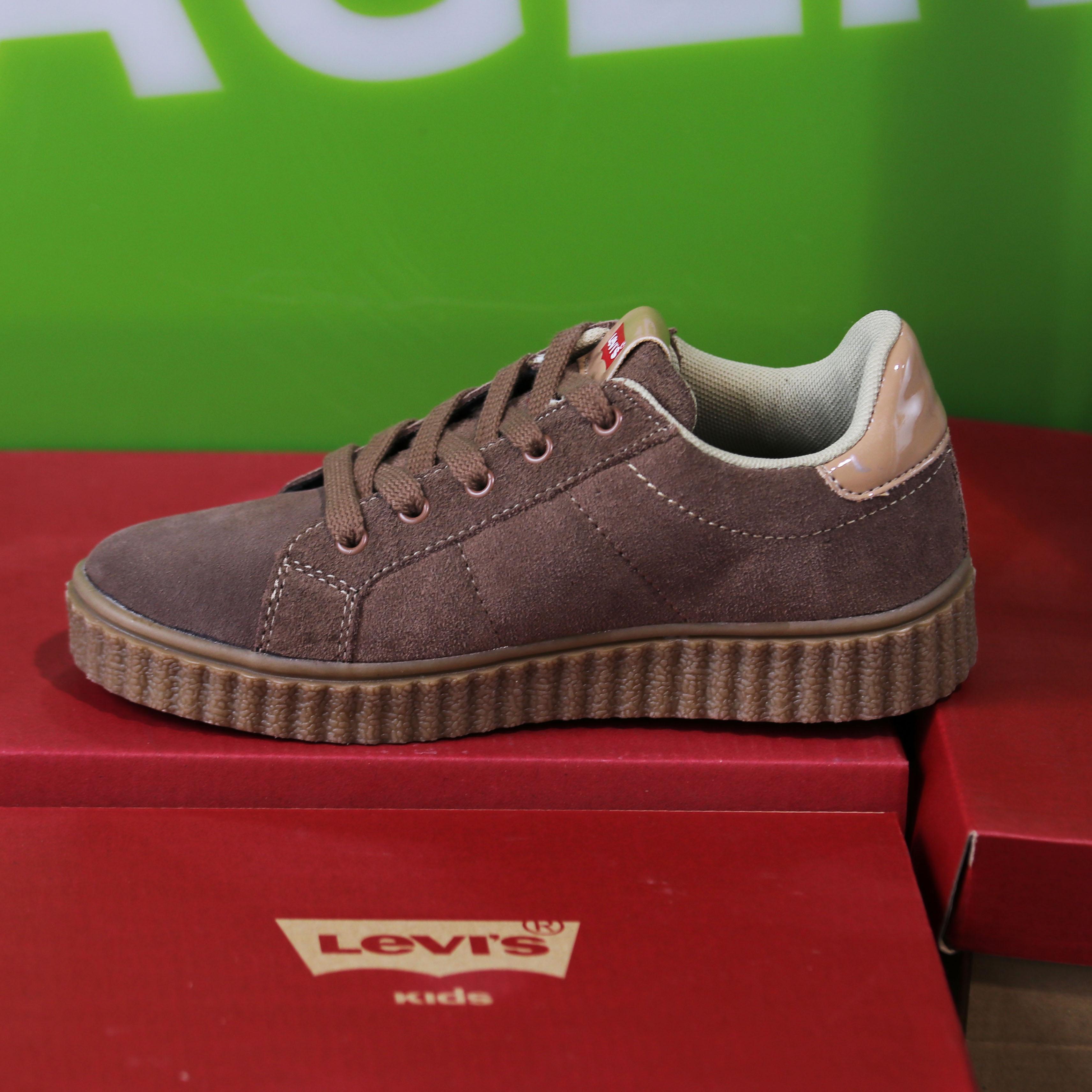 levis kids – new england brun sko barn dame sneakers3