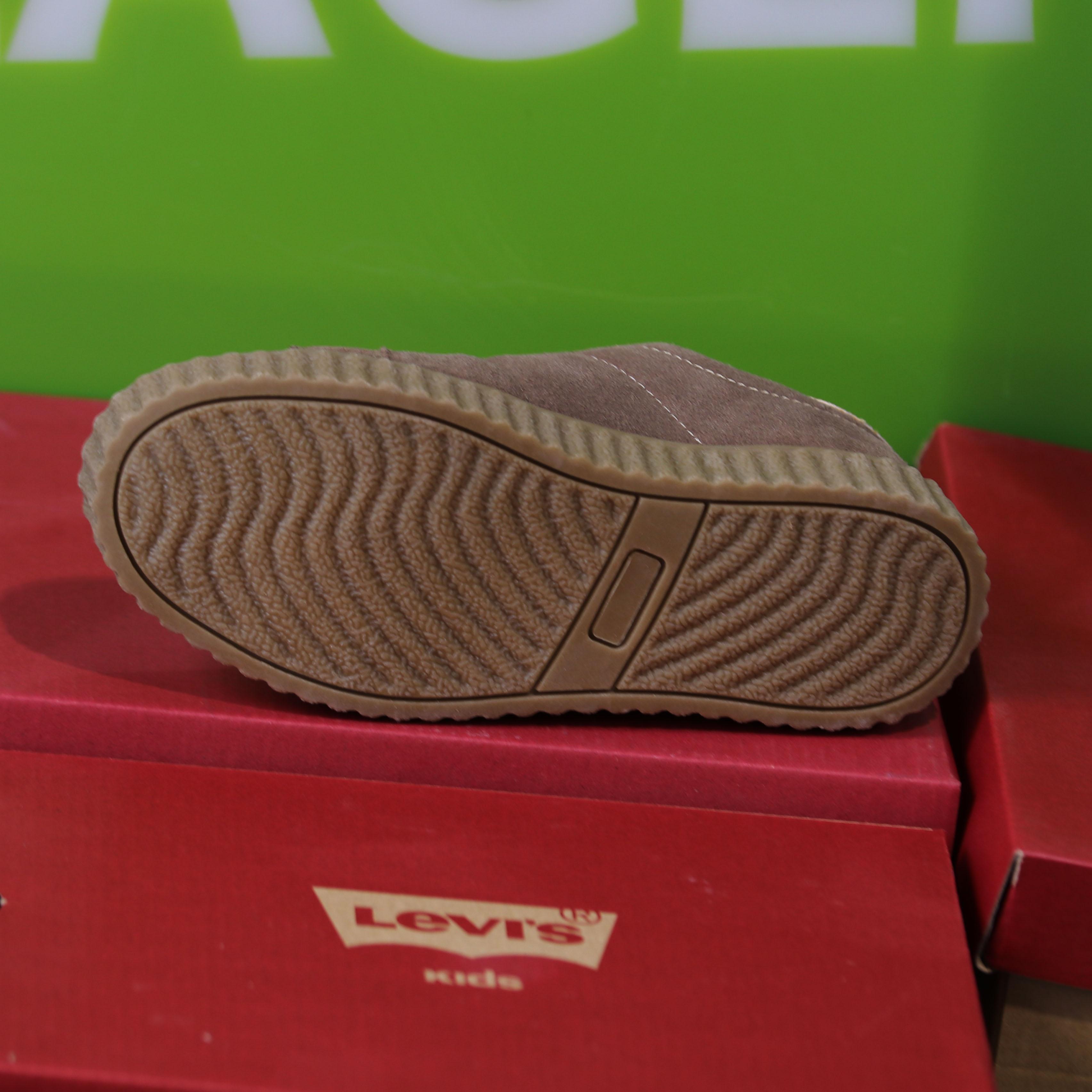 levis kids – new england brun sko barn dame sneakers5