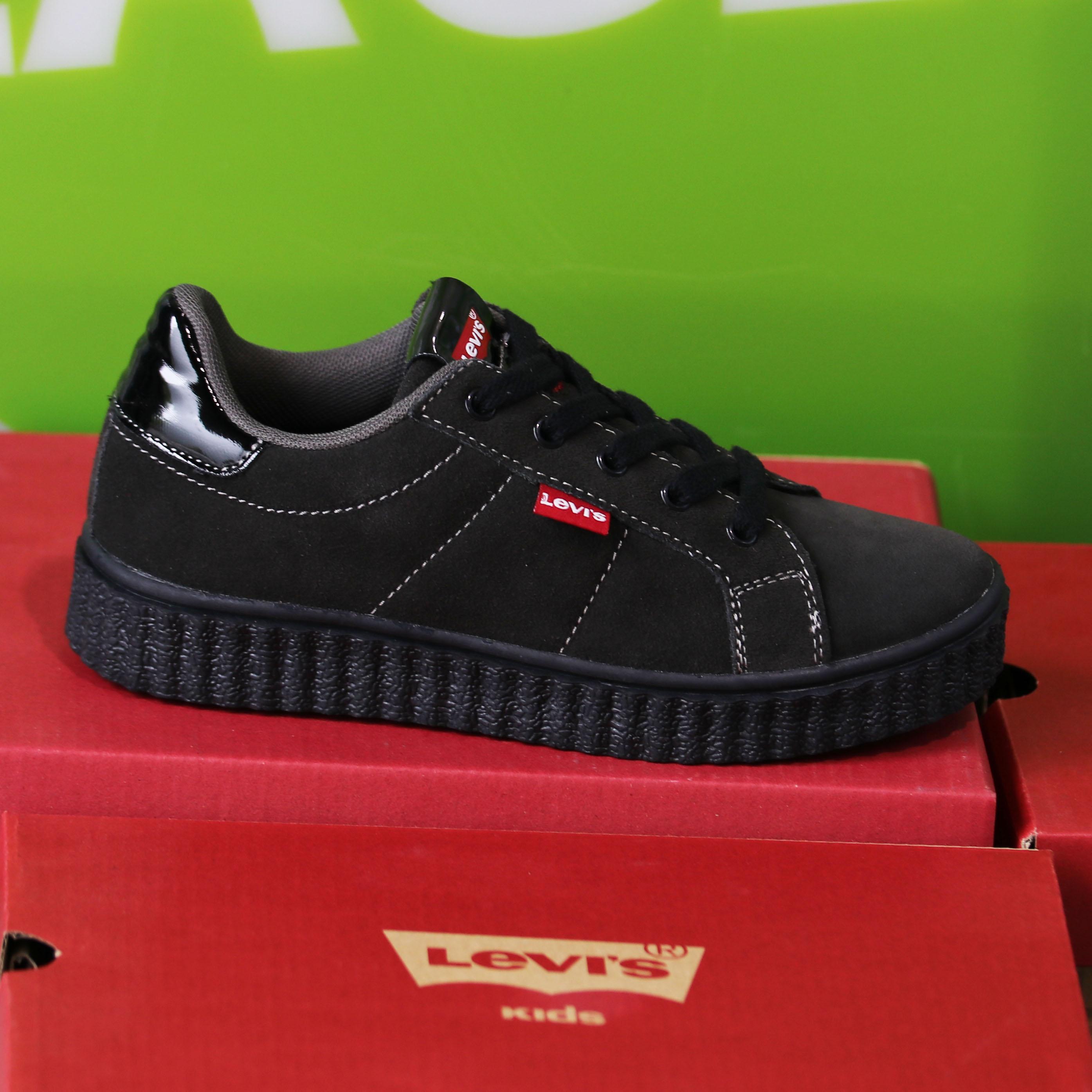 levis kids – new england sort sneaker sko barn1