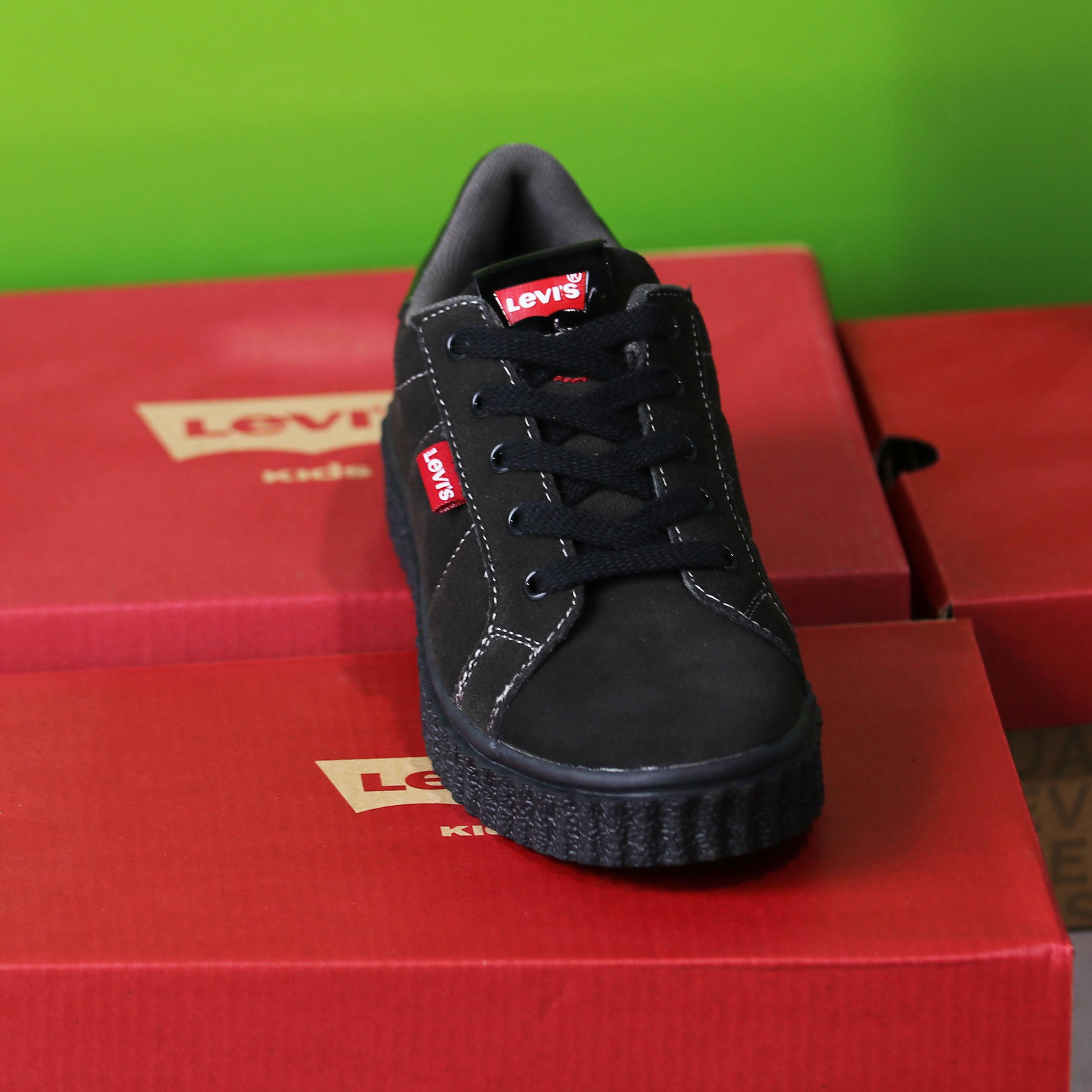 levis kids – new england sort sneaker sko barn2