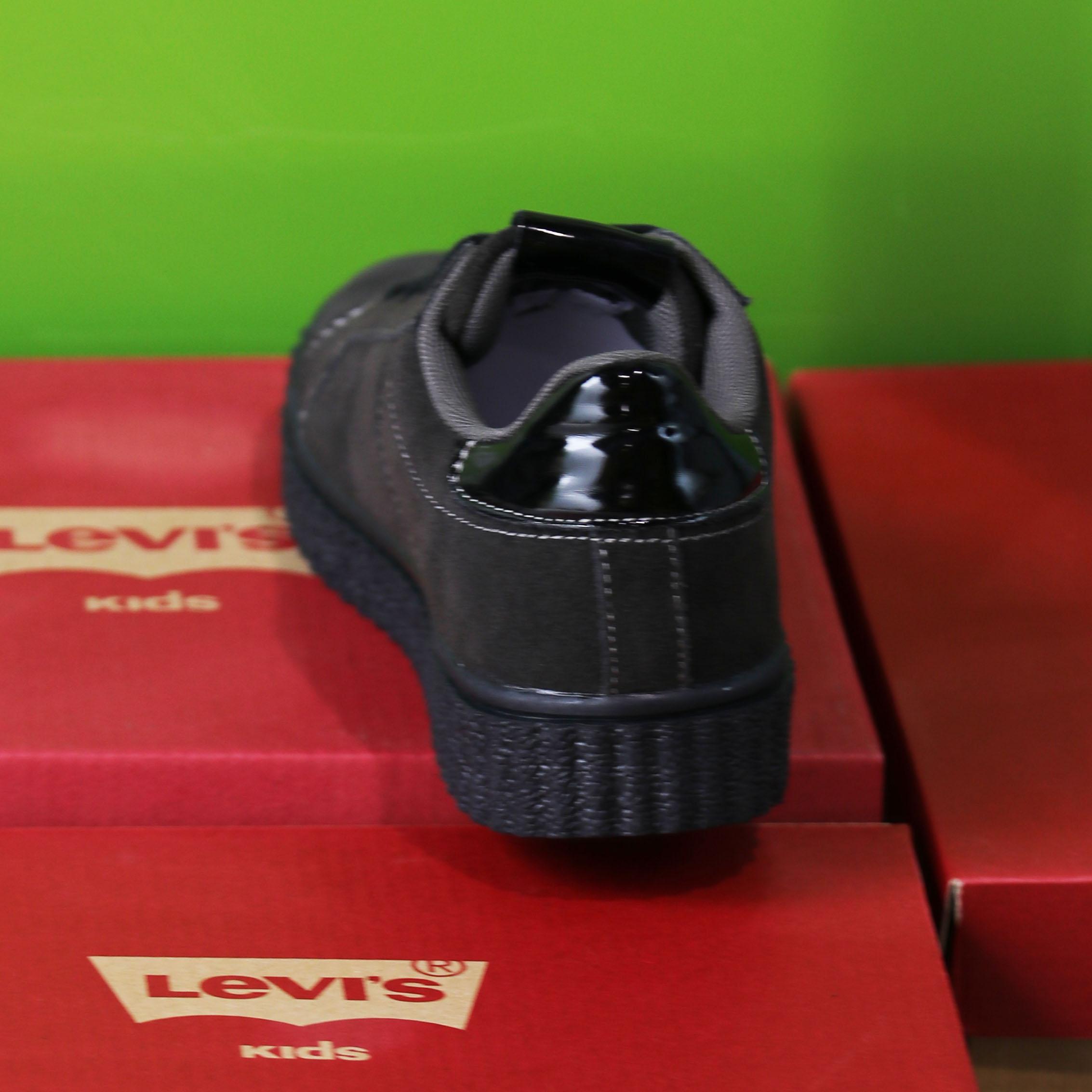 levis kids – new england sort sneaker sko barn3