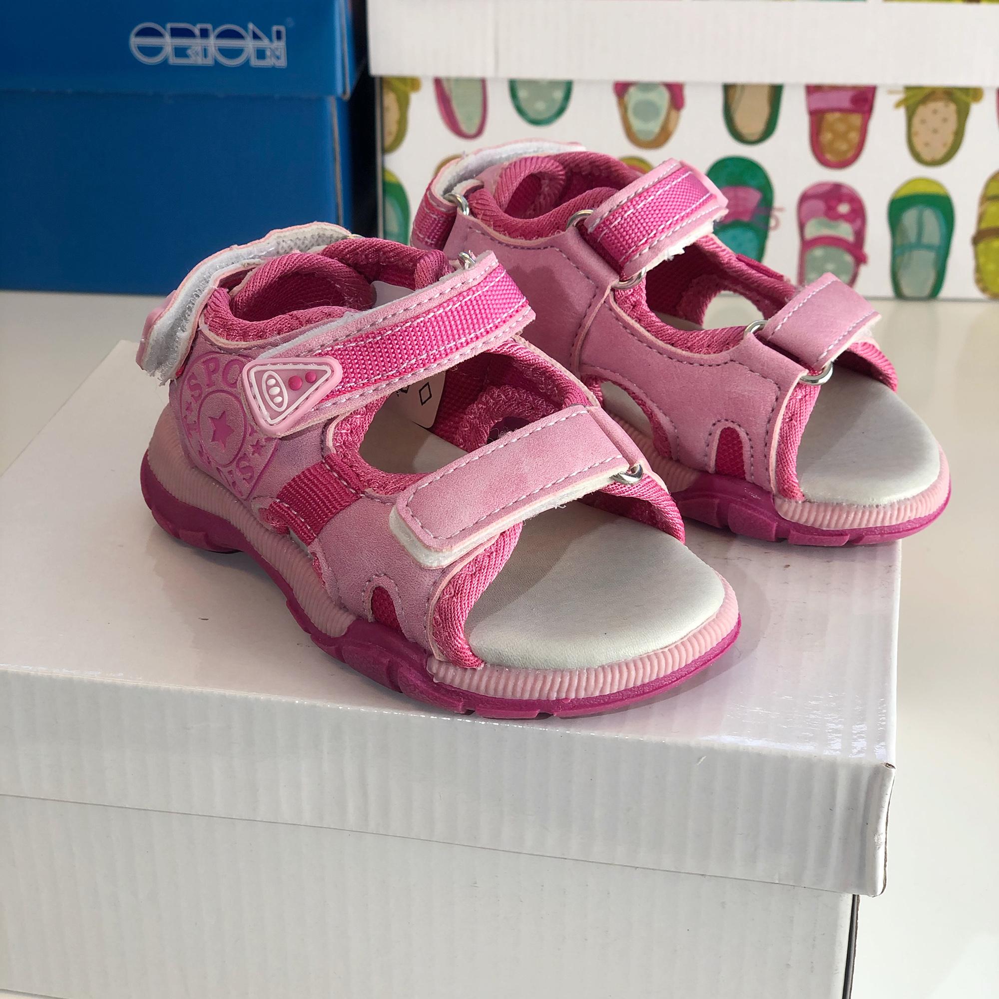 Gekko Sport sandal Rosa jente Skolageret