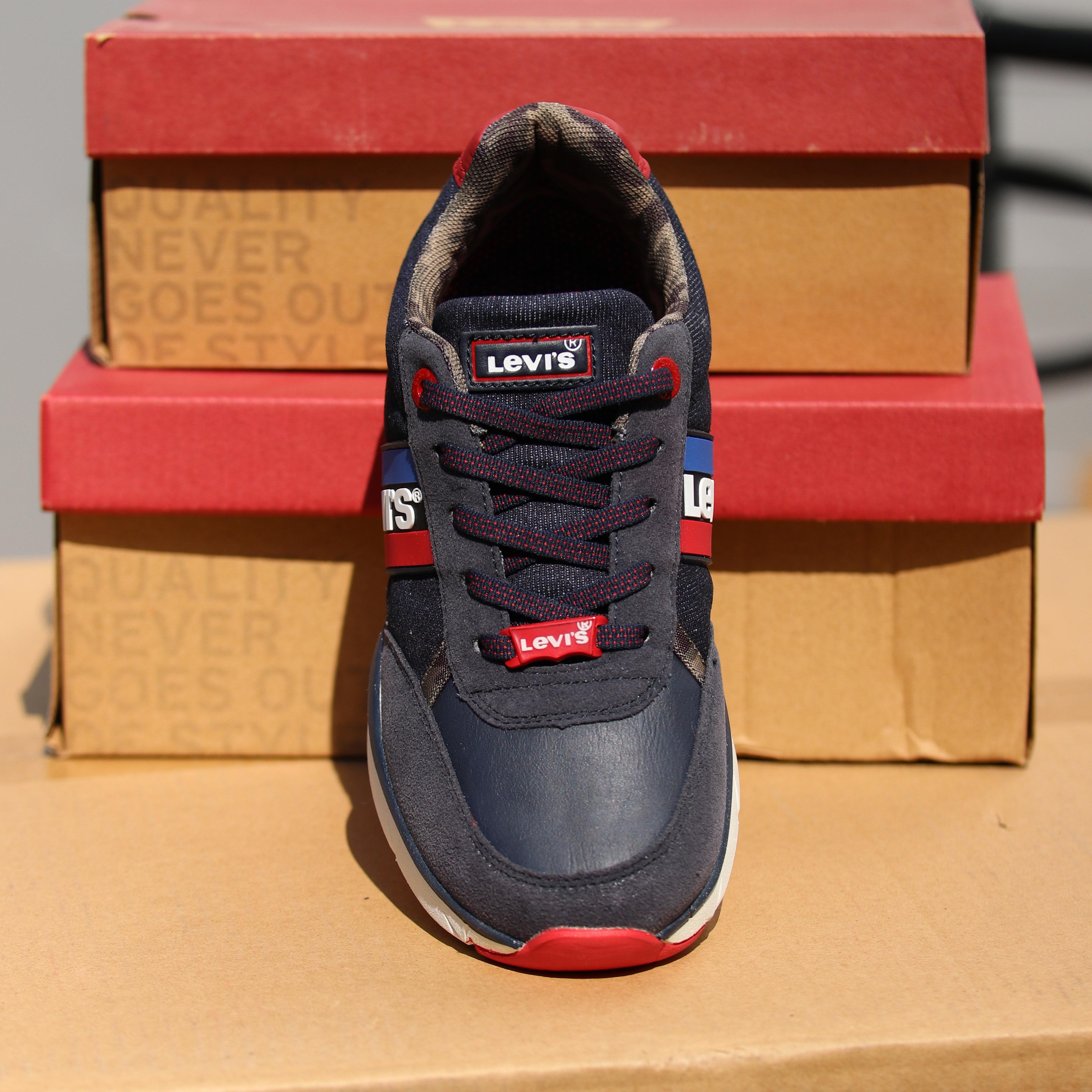 levis new oregon blå sko til barn sommersko1