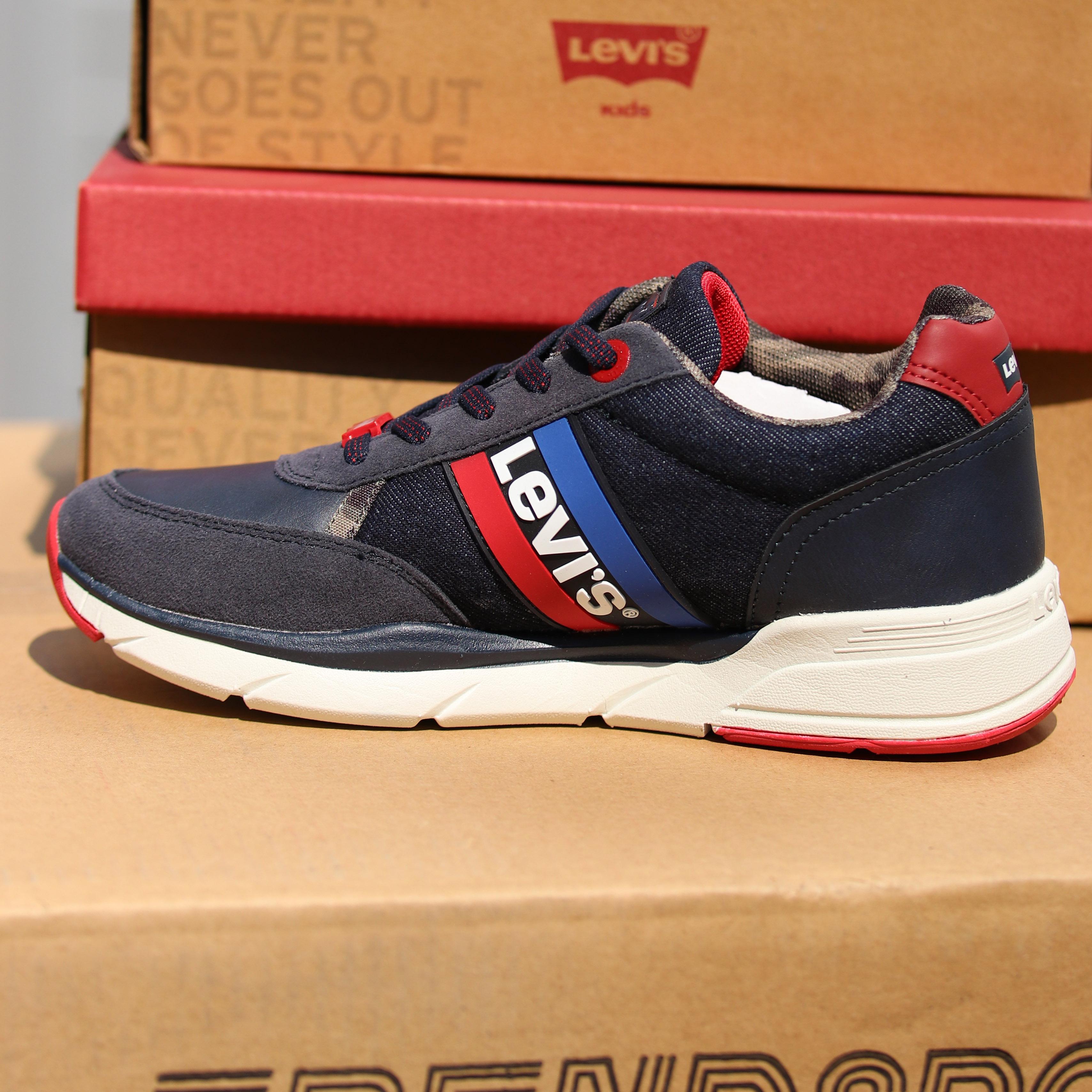 levis new oregon blå sko til barn sommersko3