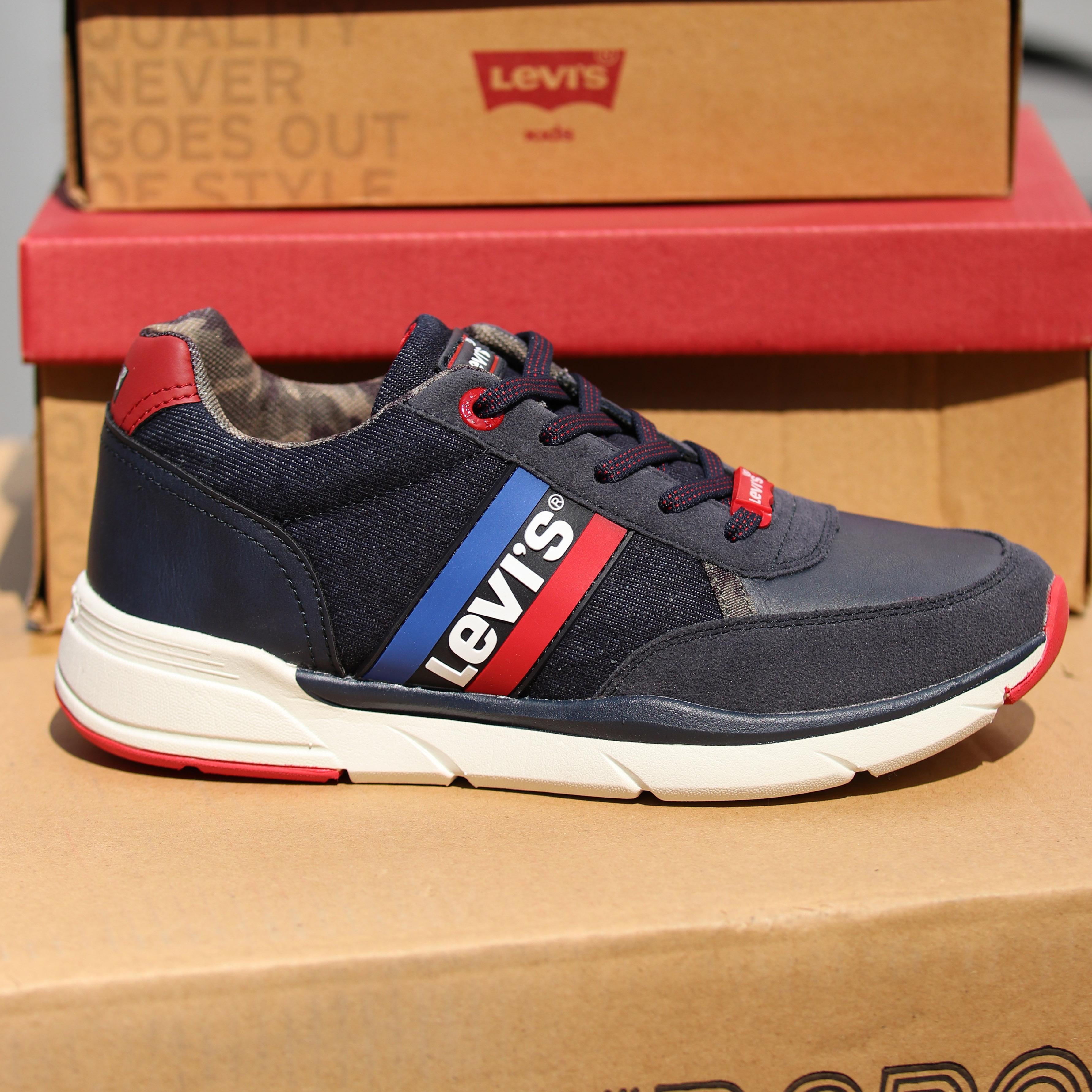 levis new oregon blå sko til barn sommersko4