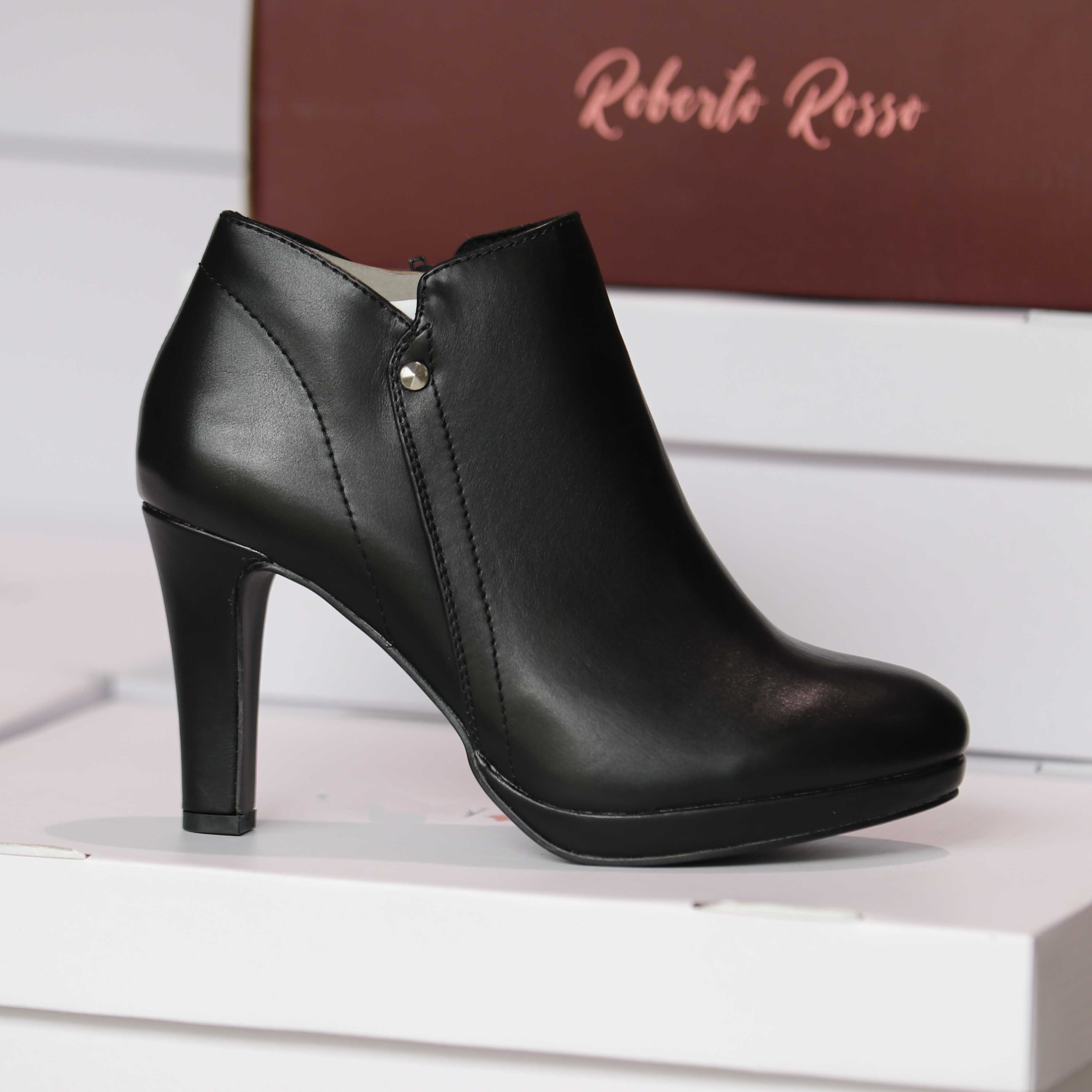roberto rosso – atleti skolette sort dame høst sko1