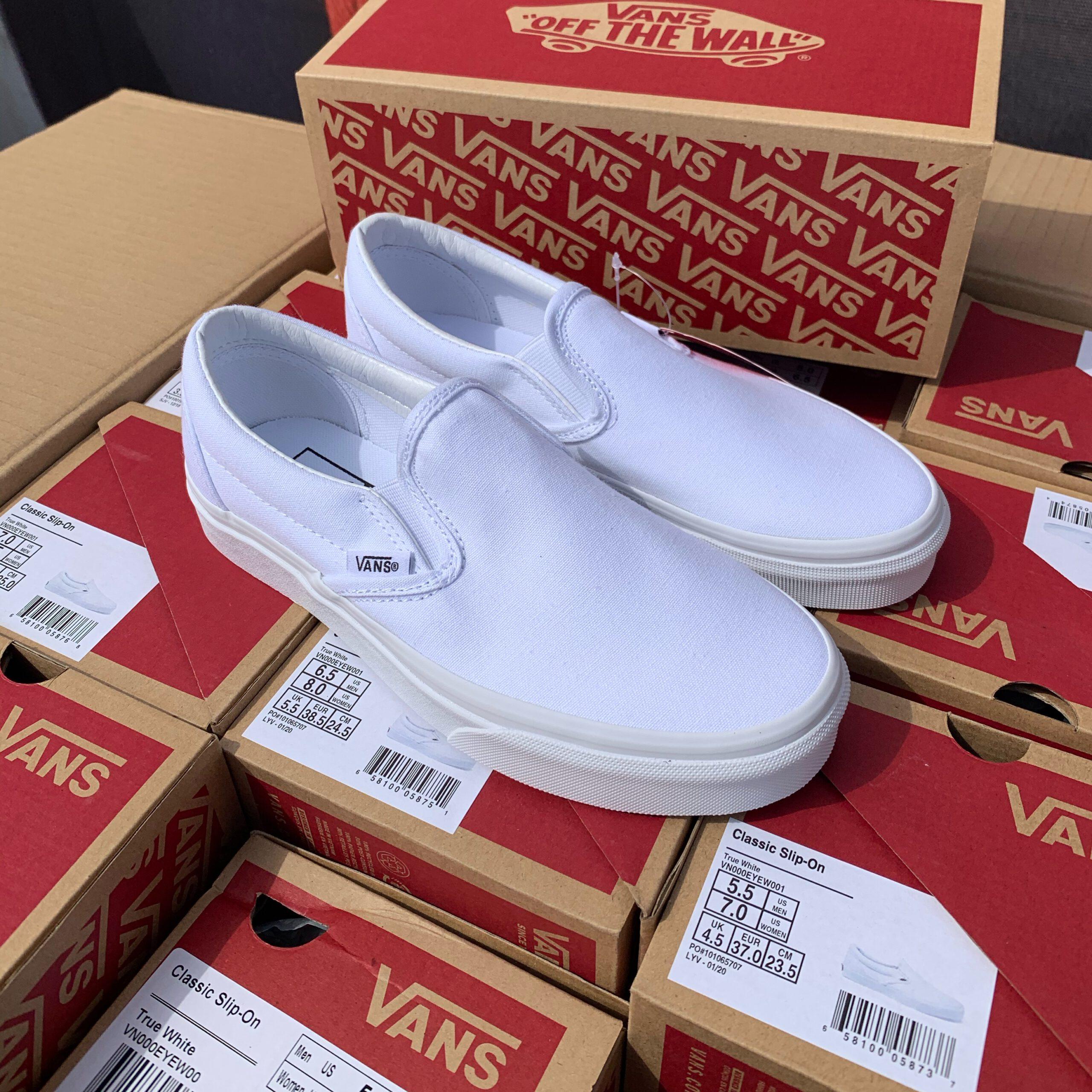 Merker VANS Vans - Classic Slip-On True White 39