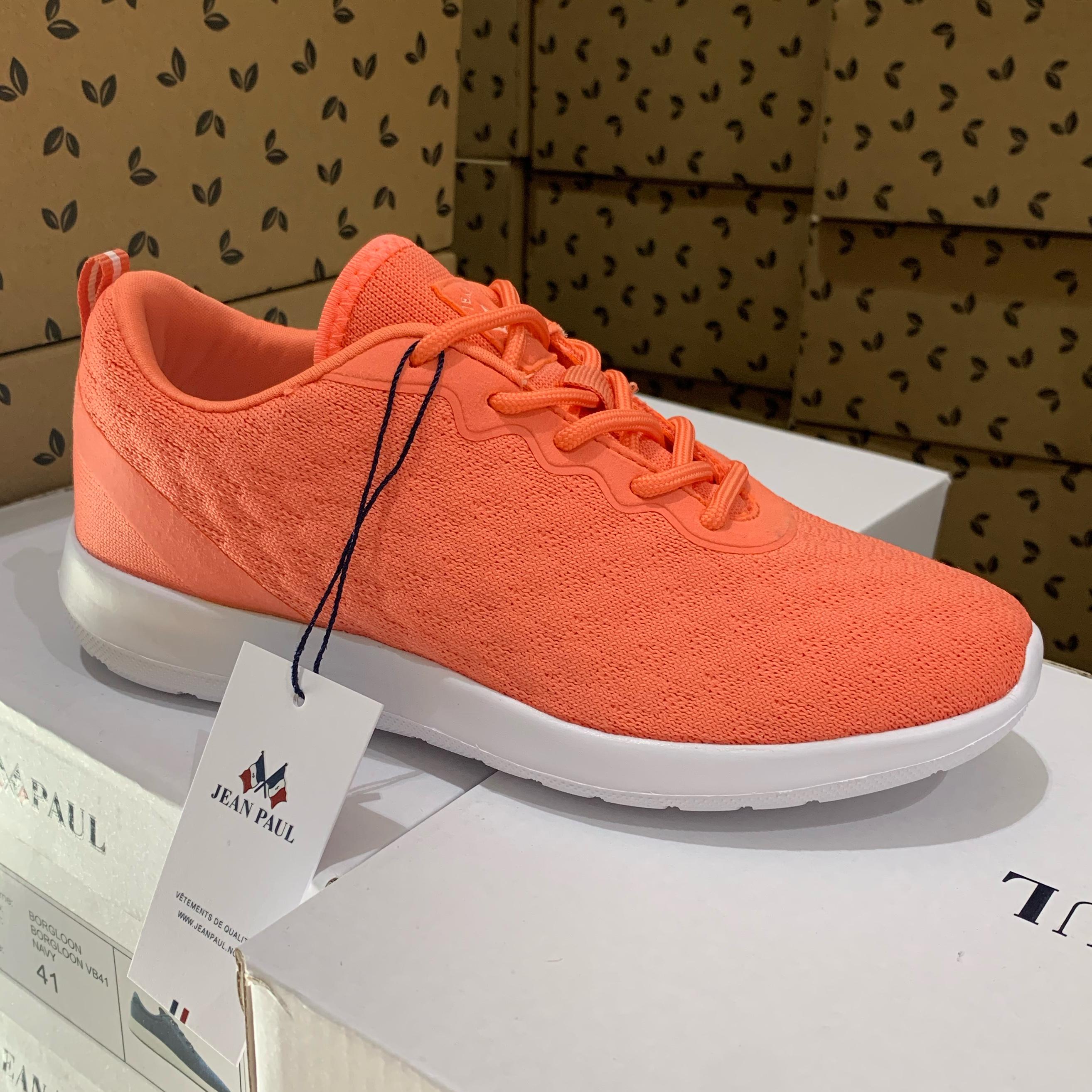 jean paul – fleur ll coral dame sneakers sommersko3