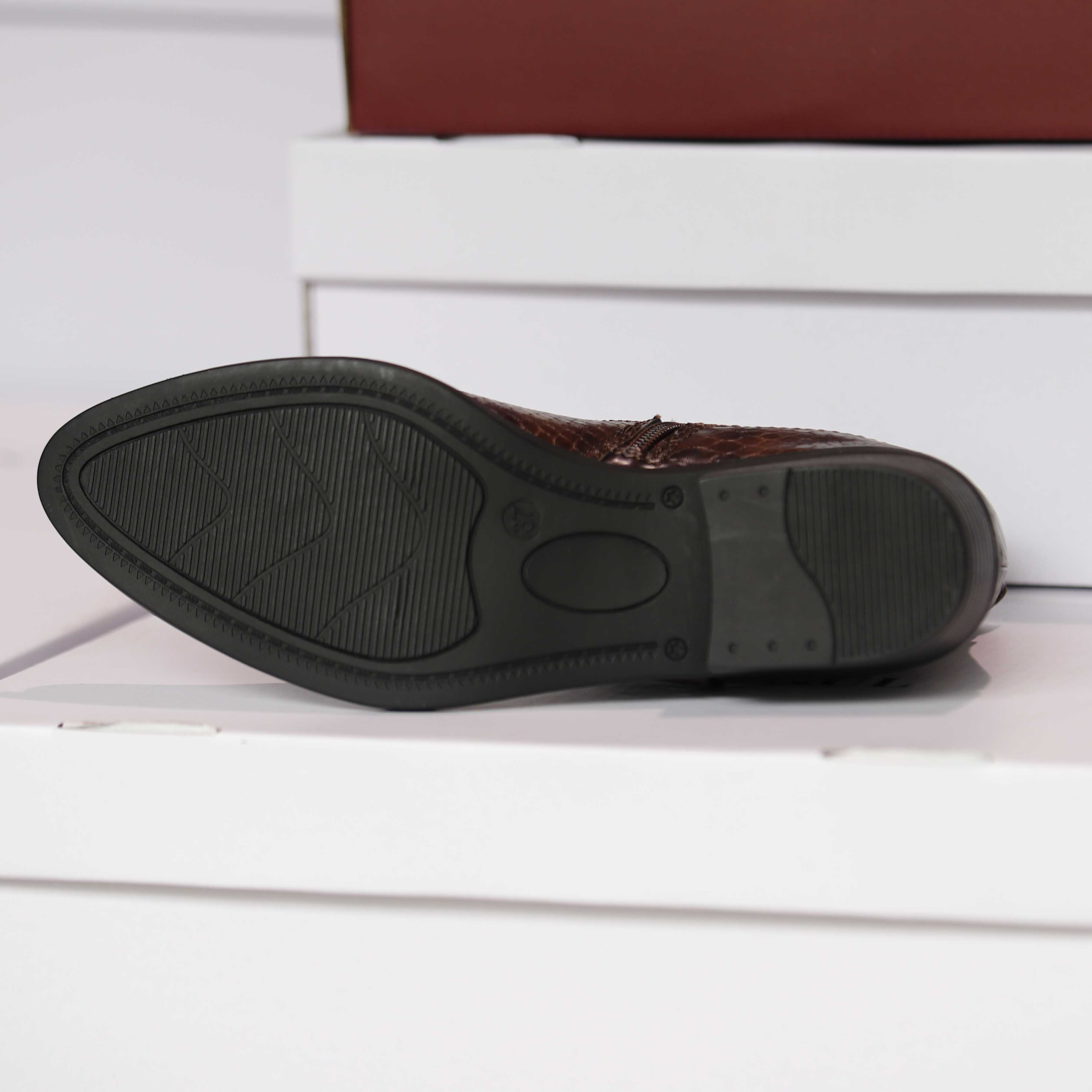 roberto rosso susy brown croco dame sko høst2