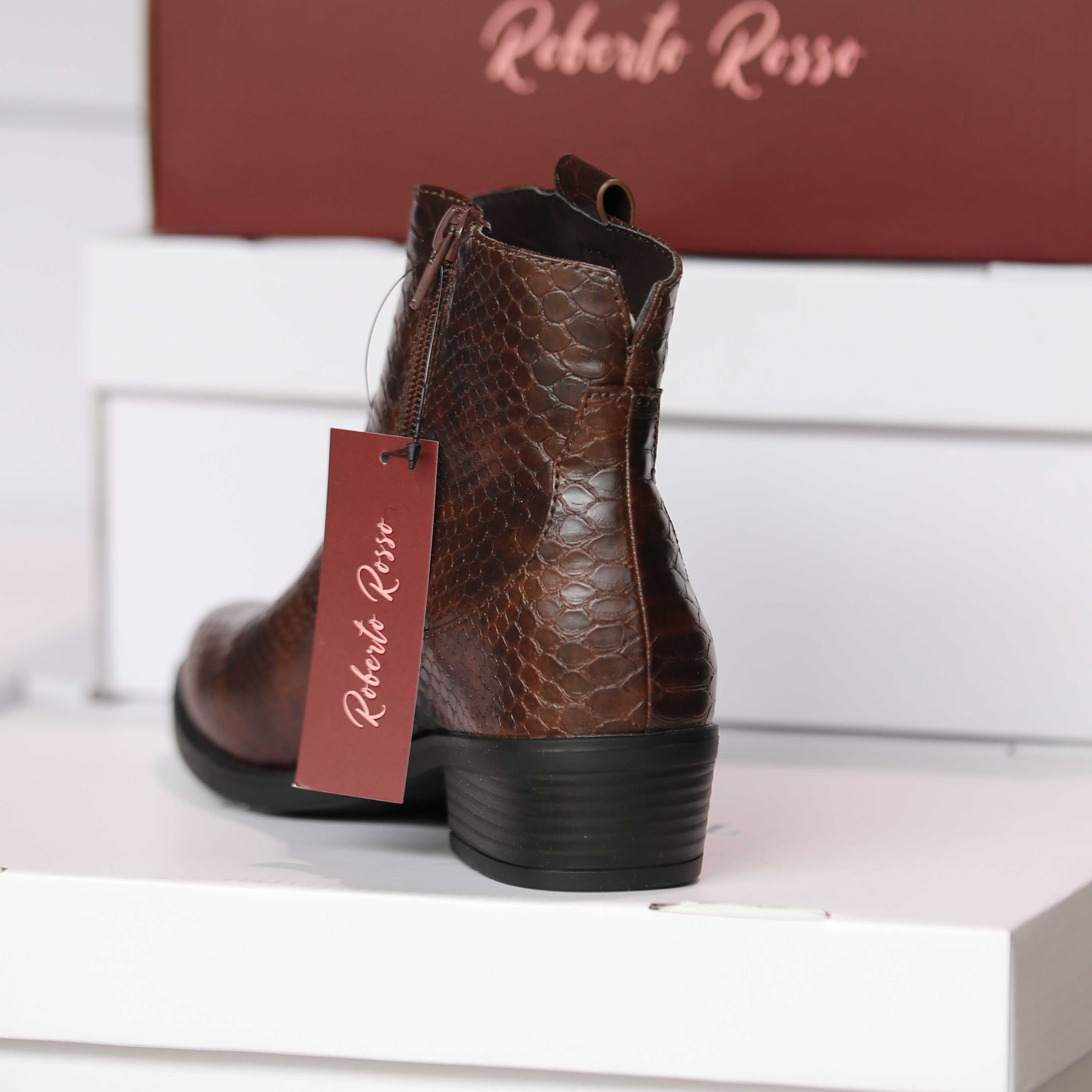 roberto rosso susy brown croco dame sko høst3