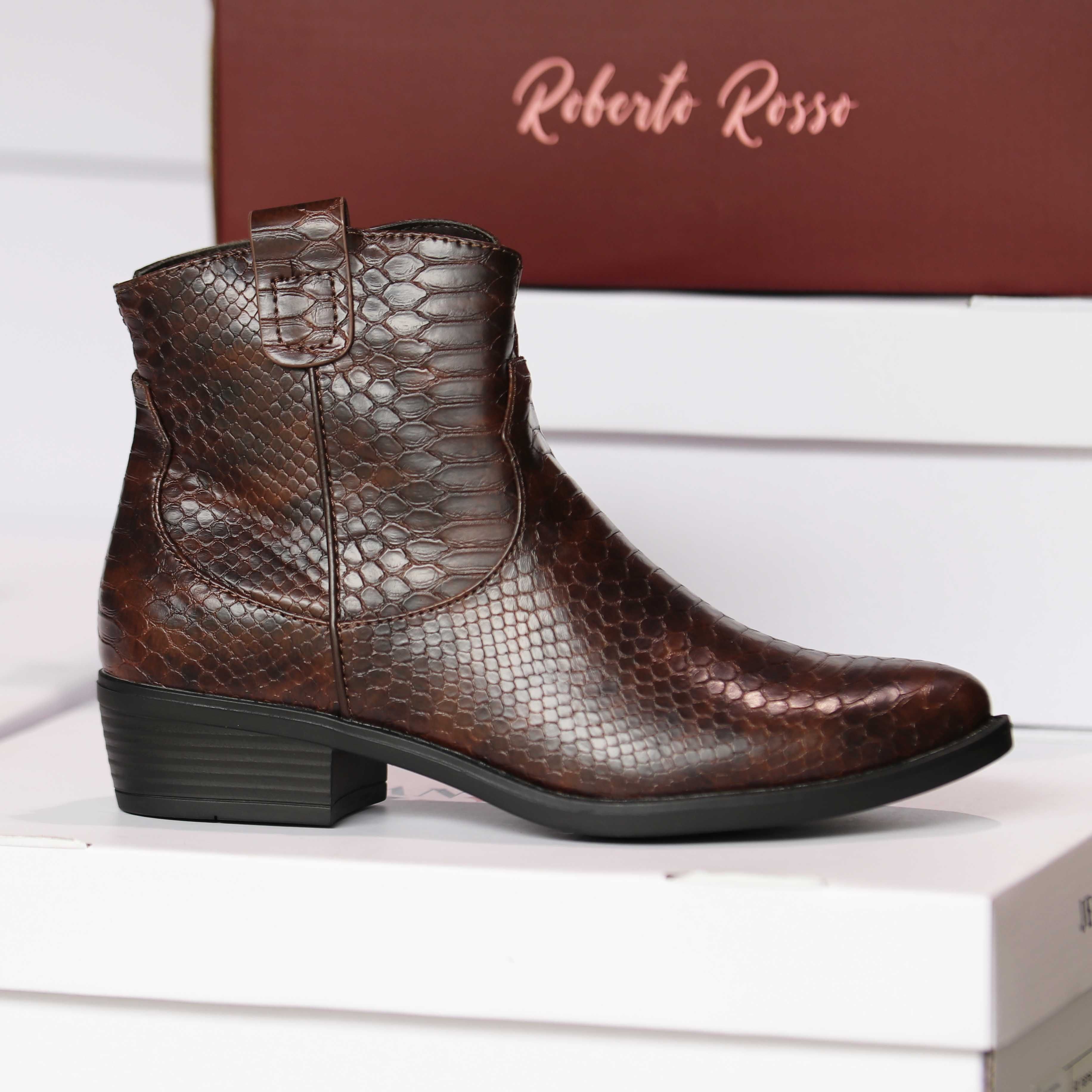 roberto rosso susy brown croco dame sko høst4