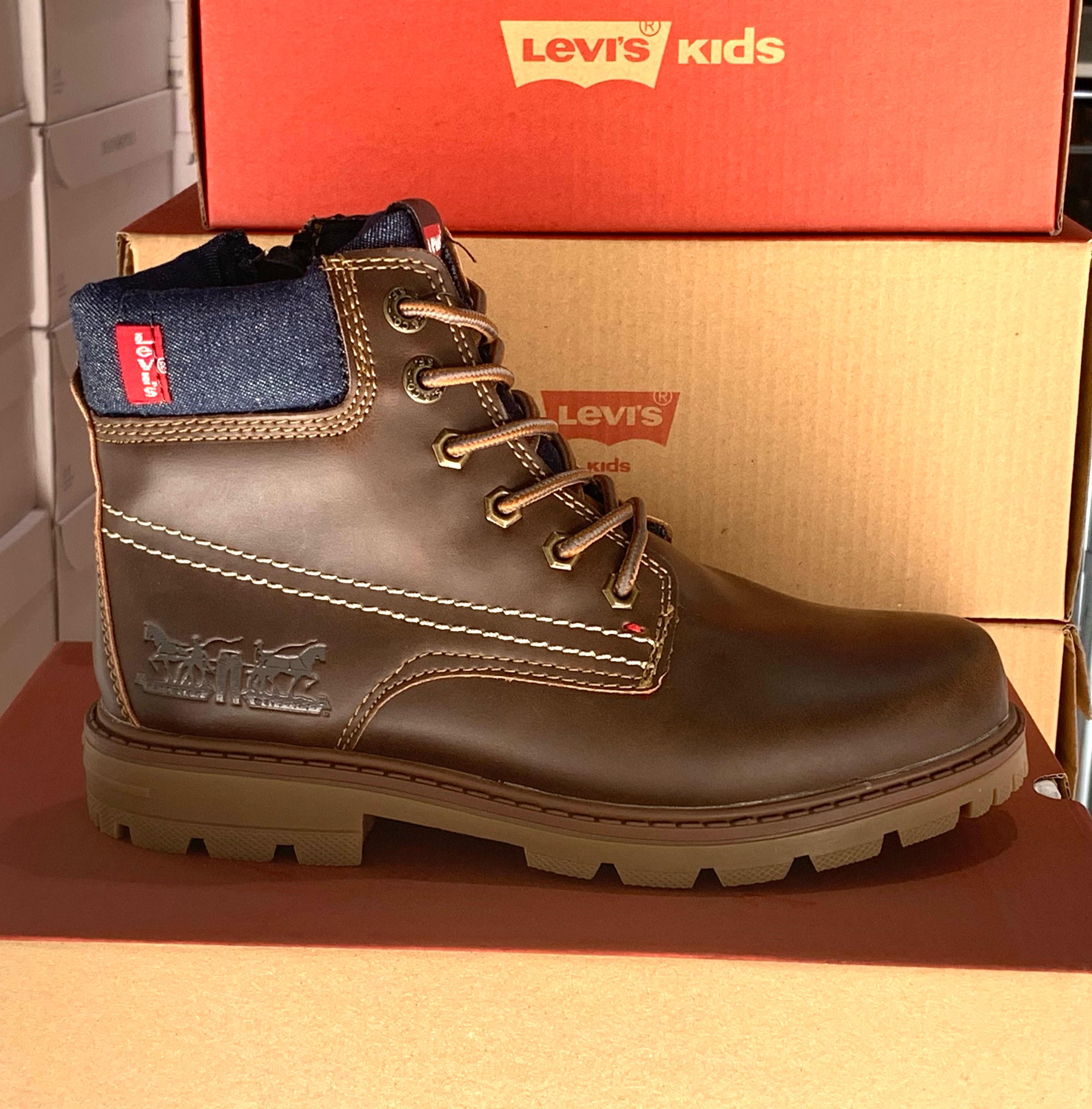 levis forrest brun:marineblå barn sko høst2