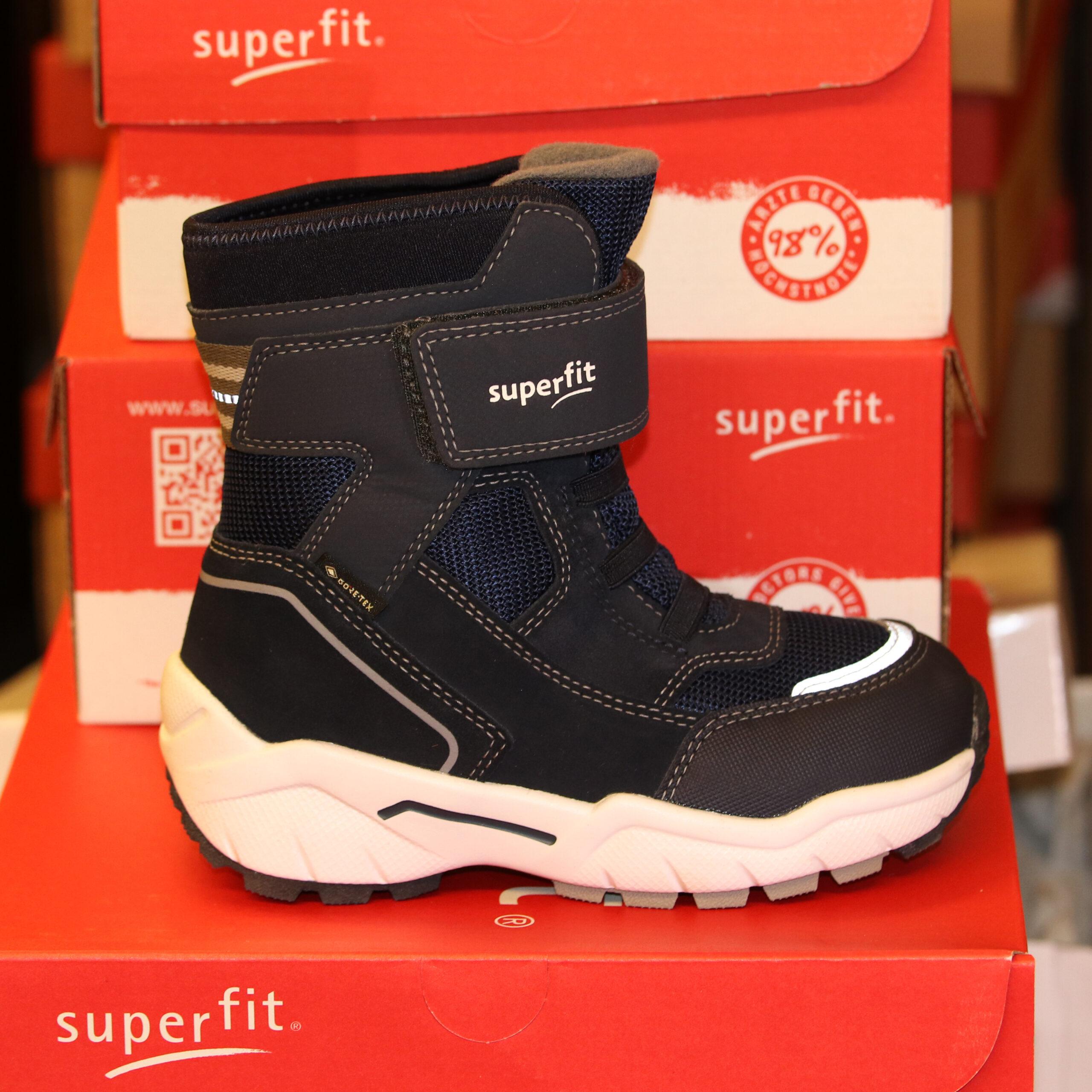 Merker SUPERFIT Superfit - Culusuk 2.0 m/ Elastisk Strikk Blå/Grå 37