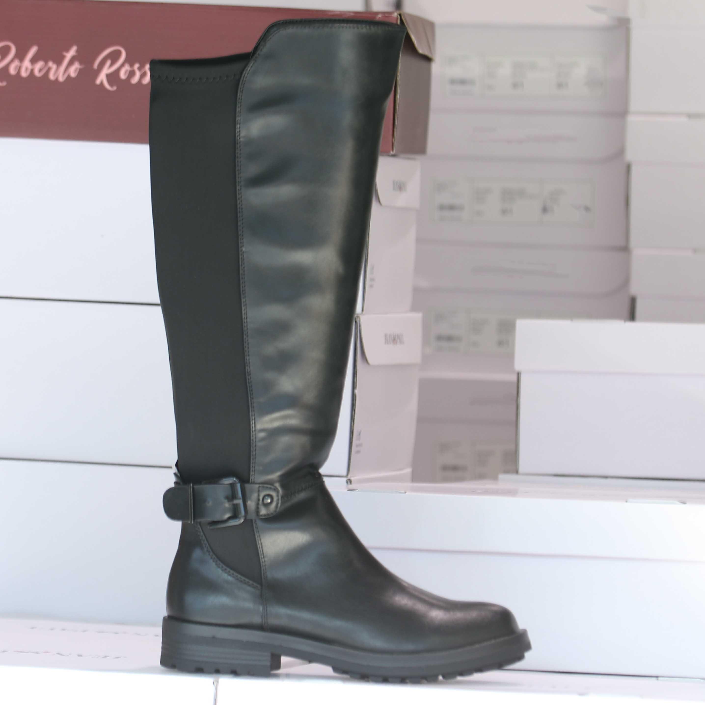 roberto rosso myrna black boot dame høst sko3