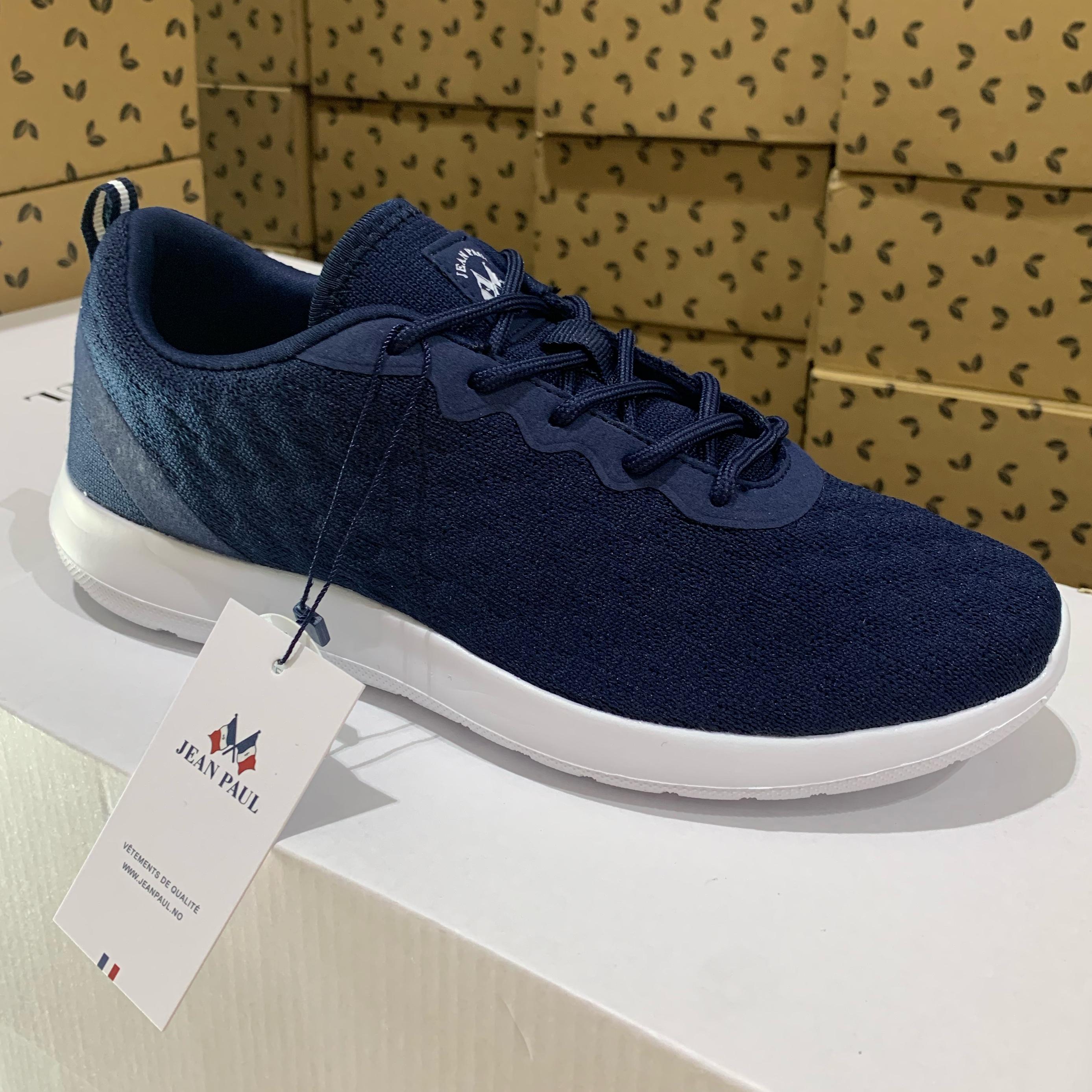 jean paul – fleur ll navy sneakers dame sommessko2