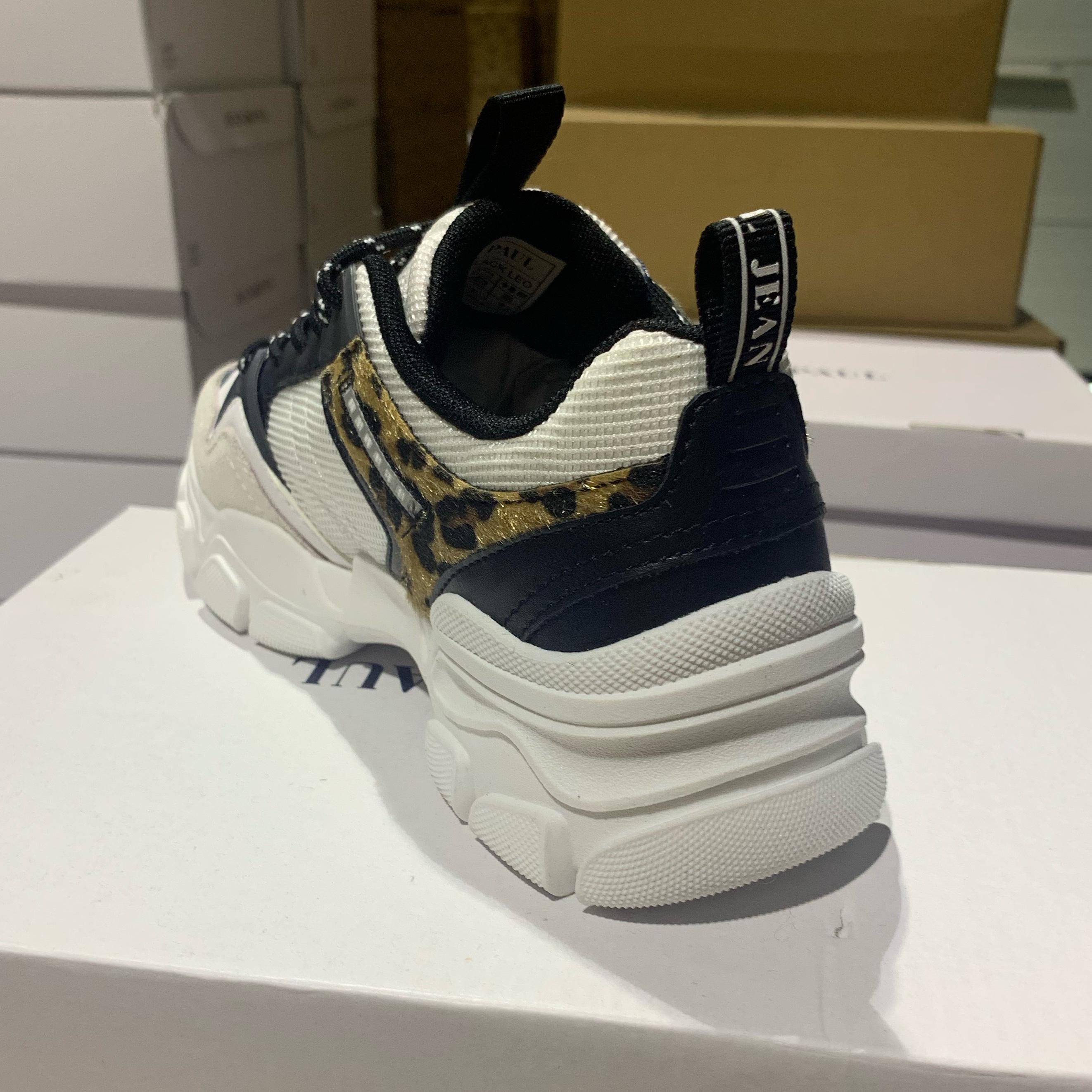 jean paul – rivoli black leo dame sneakers sommersko3