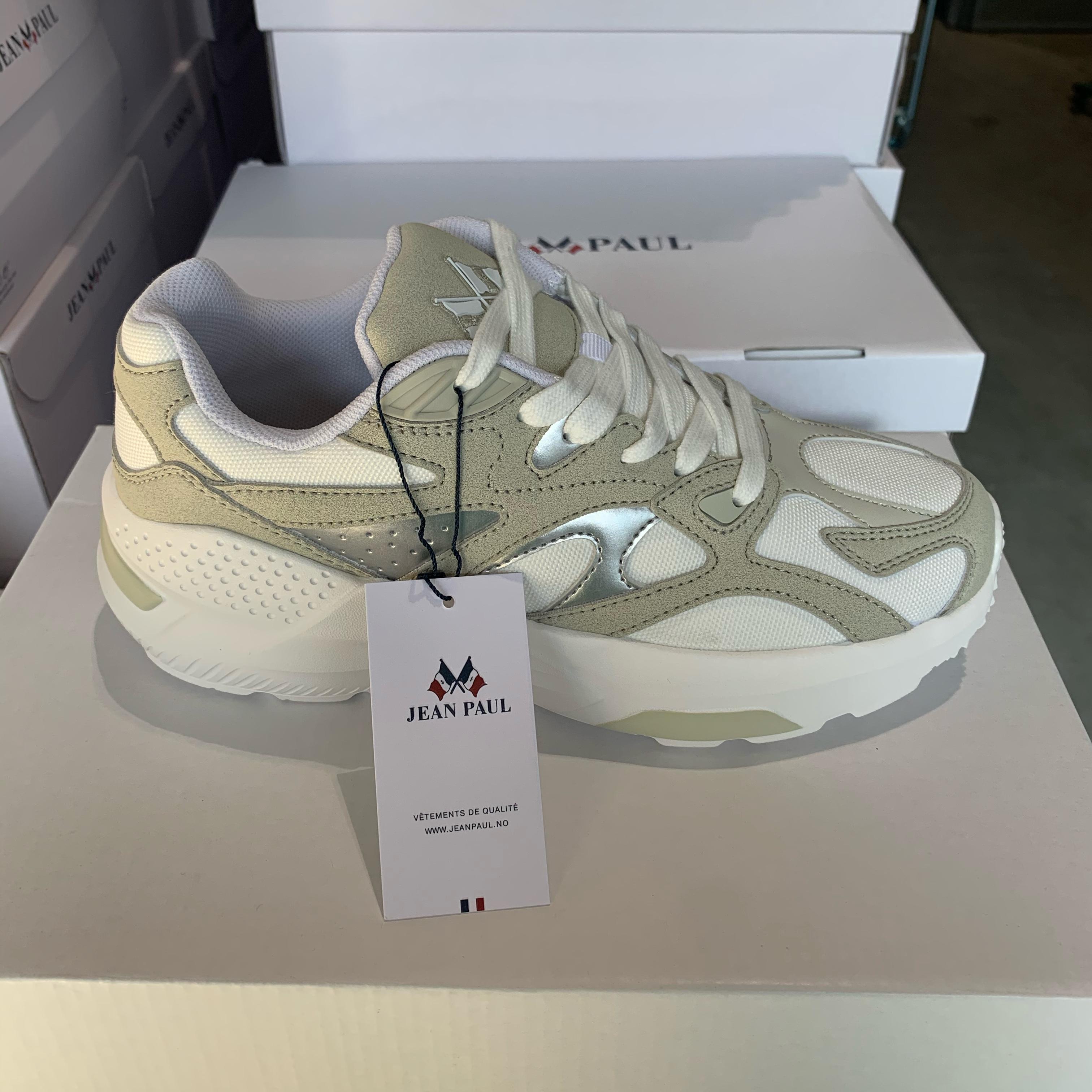 jean paul aix chunky sneakers white beige1