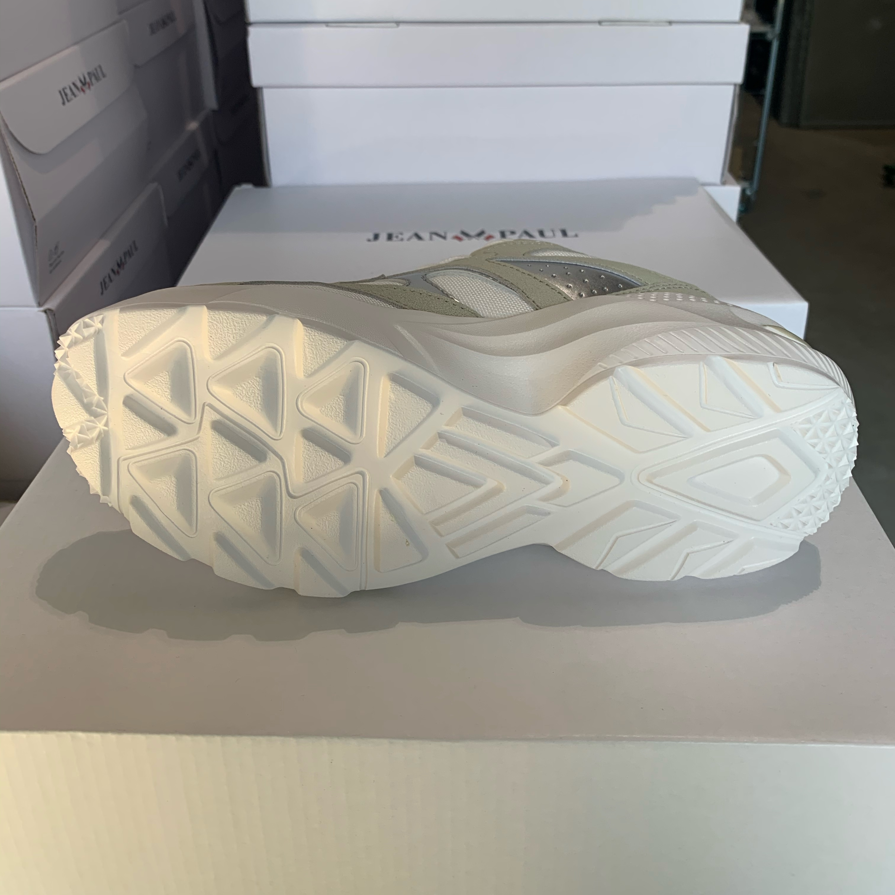 jean paul aix chunky sneakers white beige4