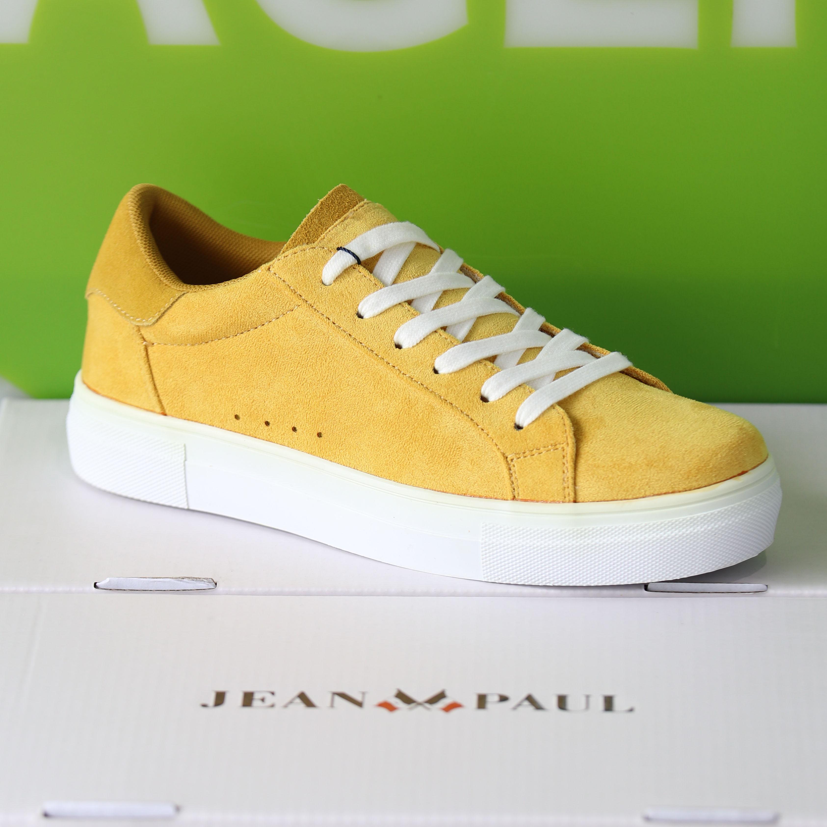 jean paul liberty yellow sko sommersko dame