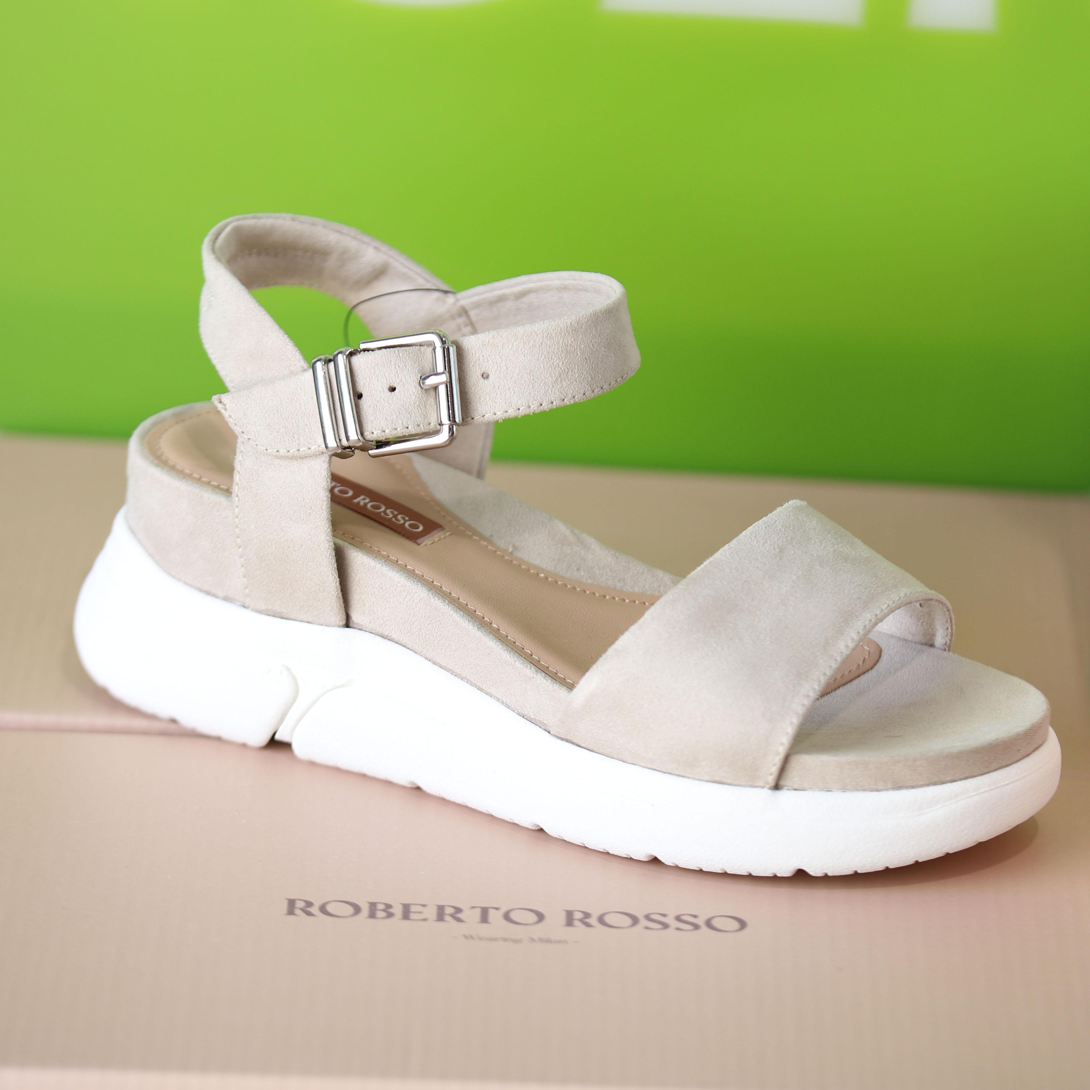 roberto rosso – akkira green sandal grønn sommer dame1