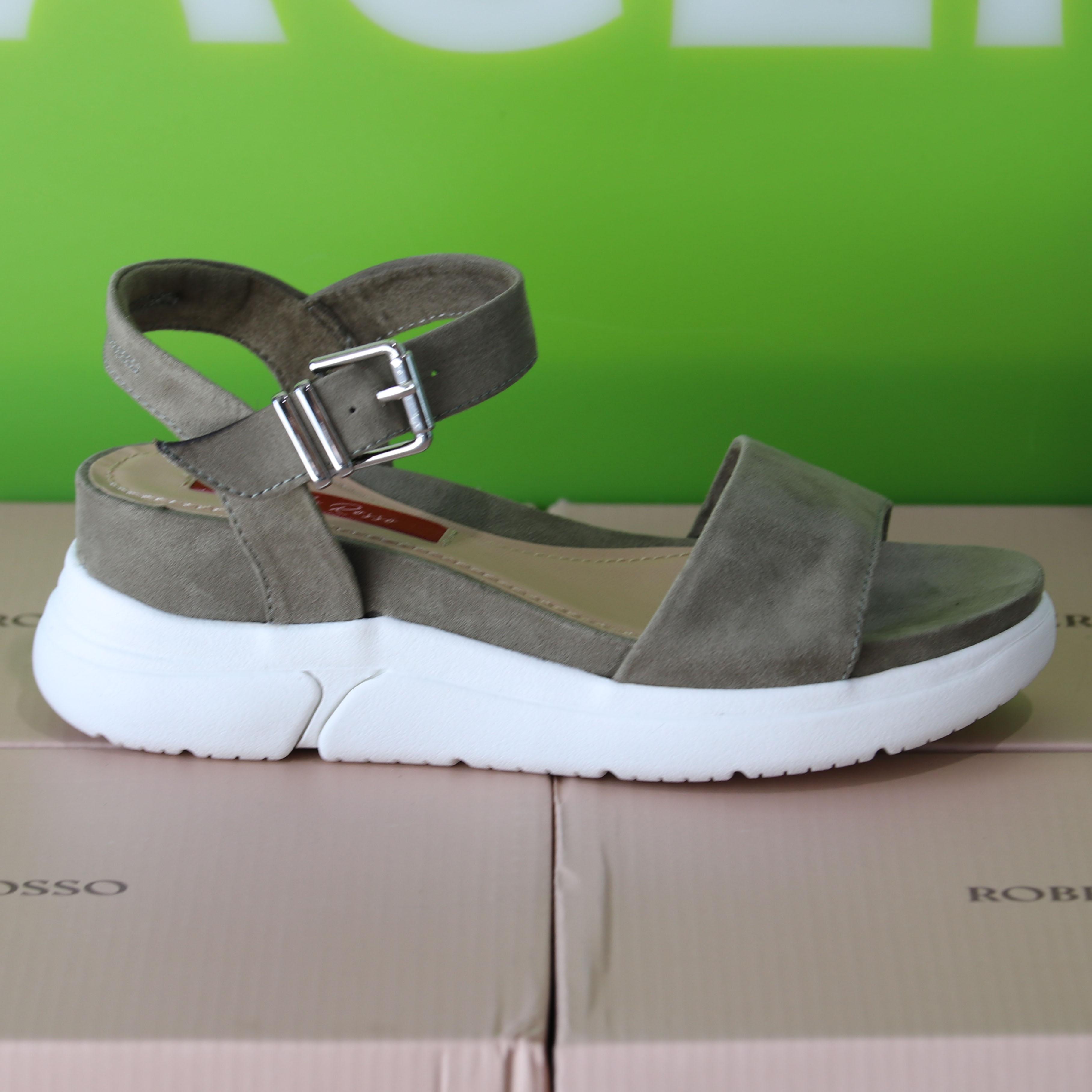 roberto rosso – akkira green sandal grønn sommer dame4