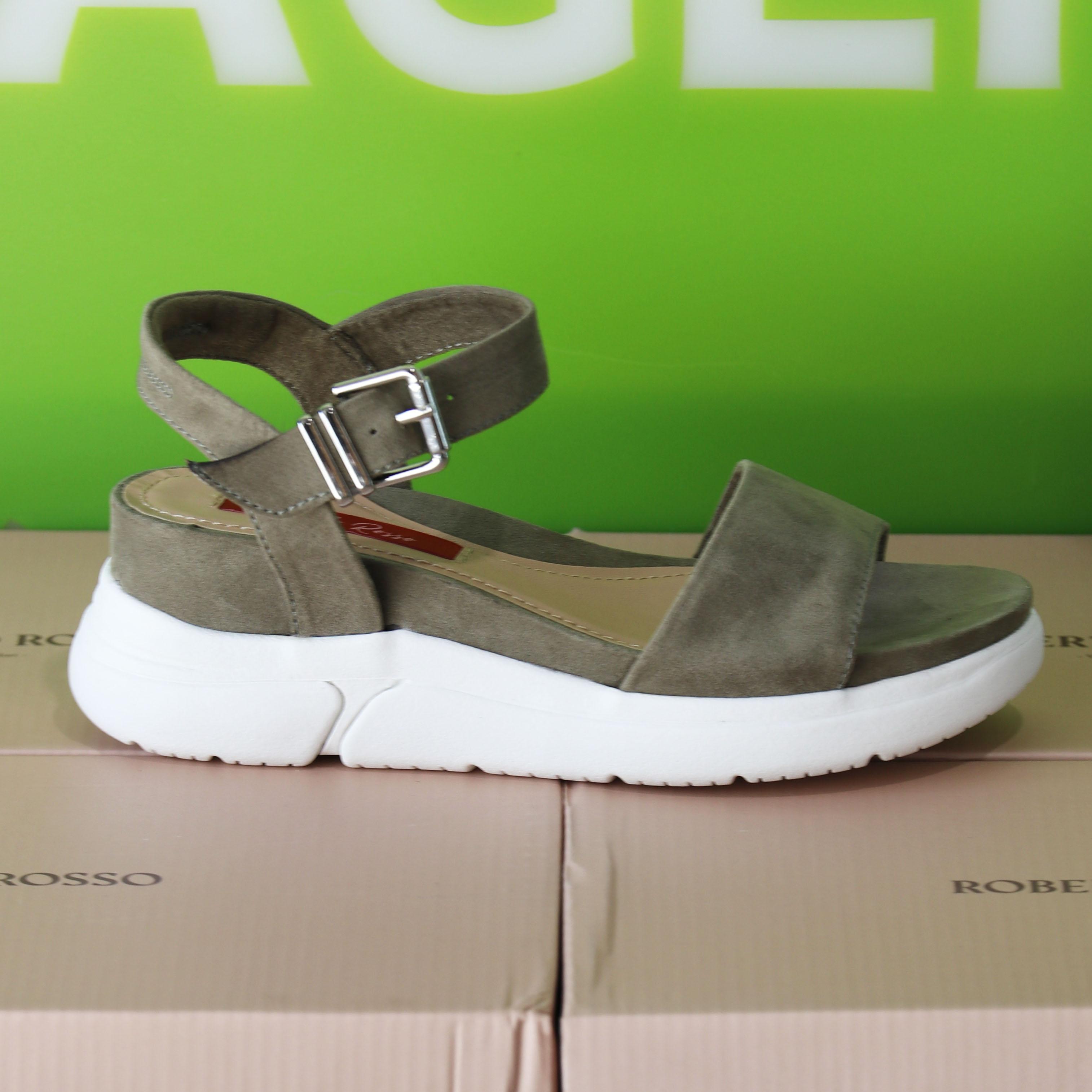 roberto rosso – akkira green sandal grønn sommer dame6