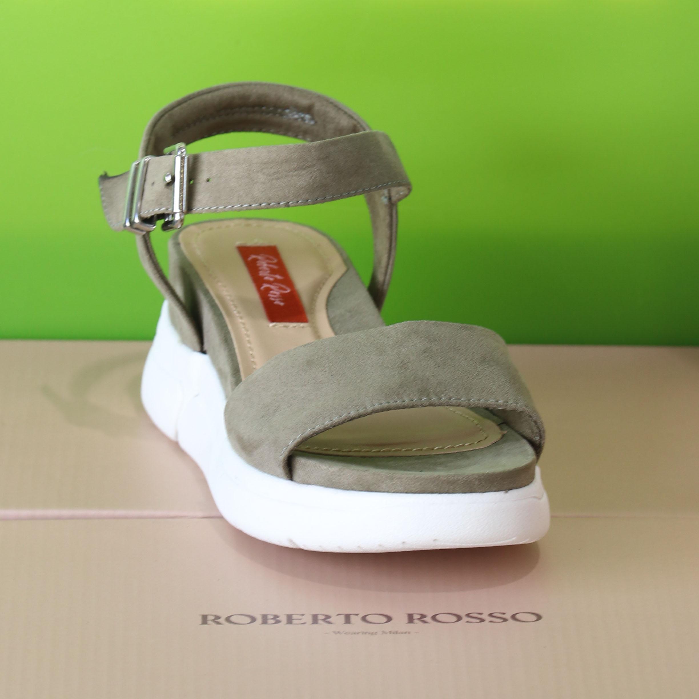 roberto rosso – akkira green sandal grønn sommer dame7