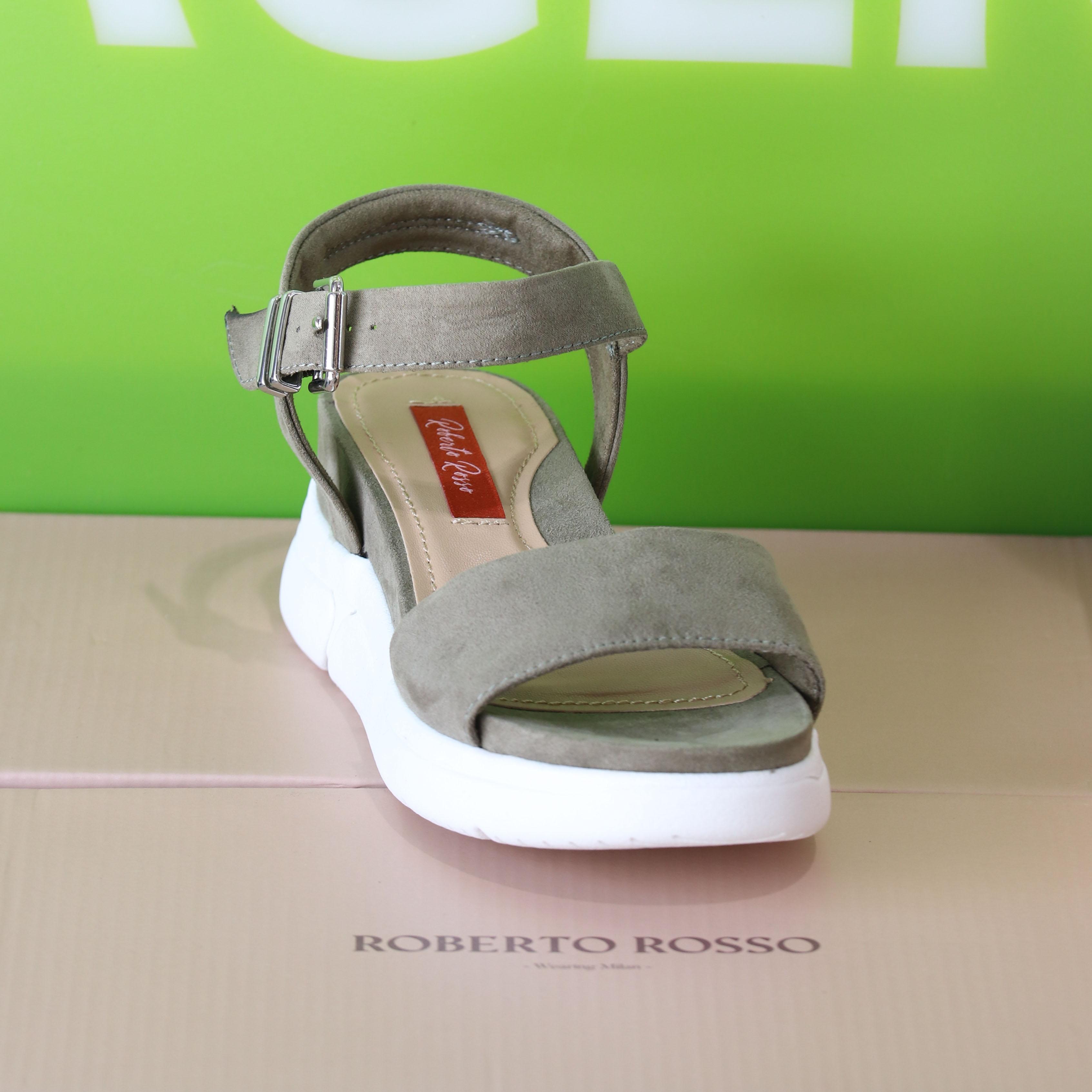 roberto rosso – akkira green sandal grønn sommer dame8