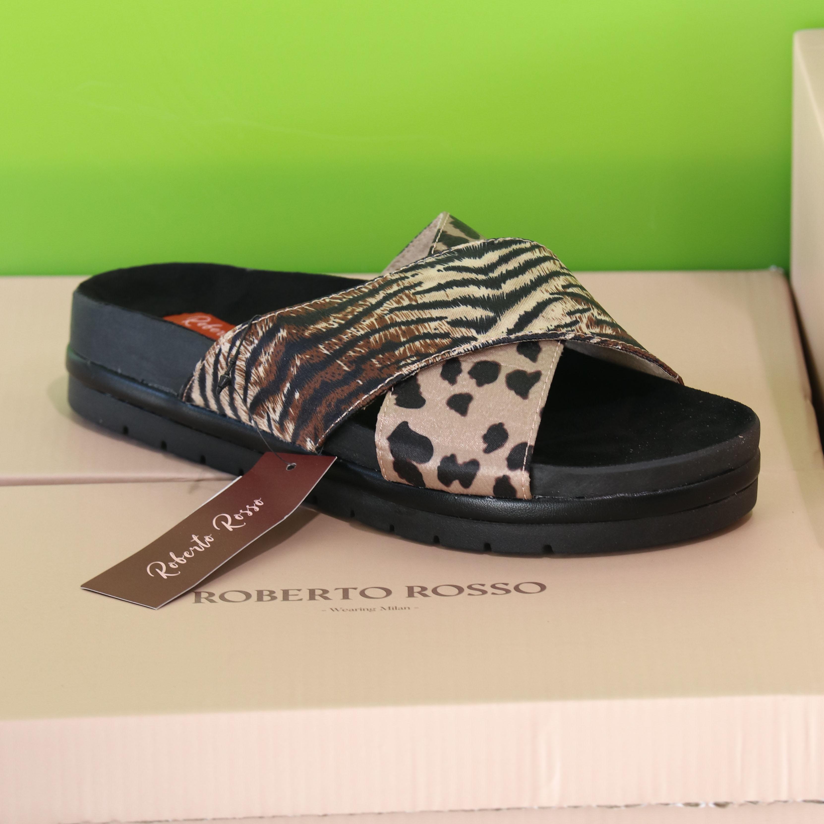 roberto rosso – oreadi leopard slippers sommer dame2