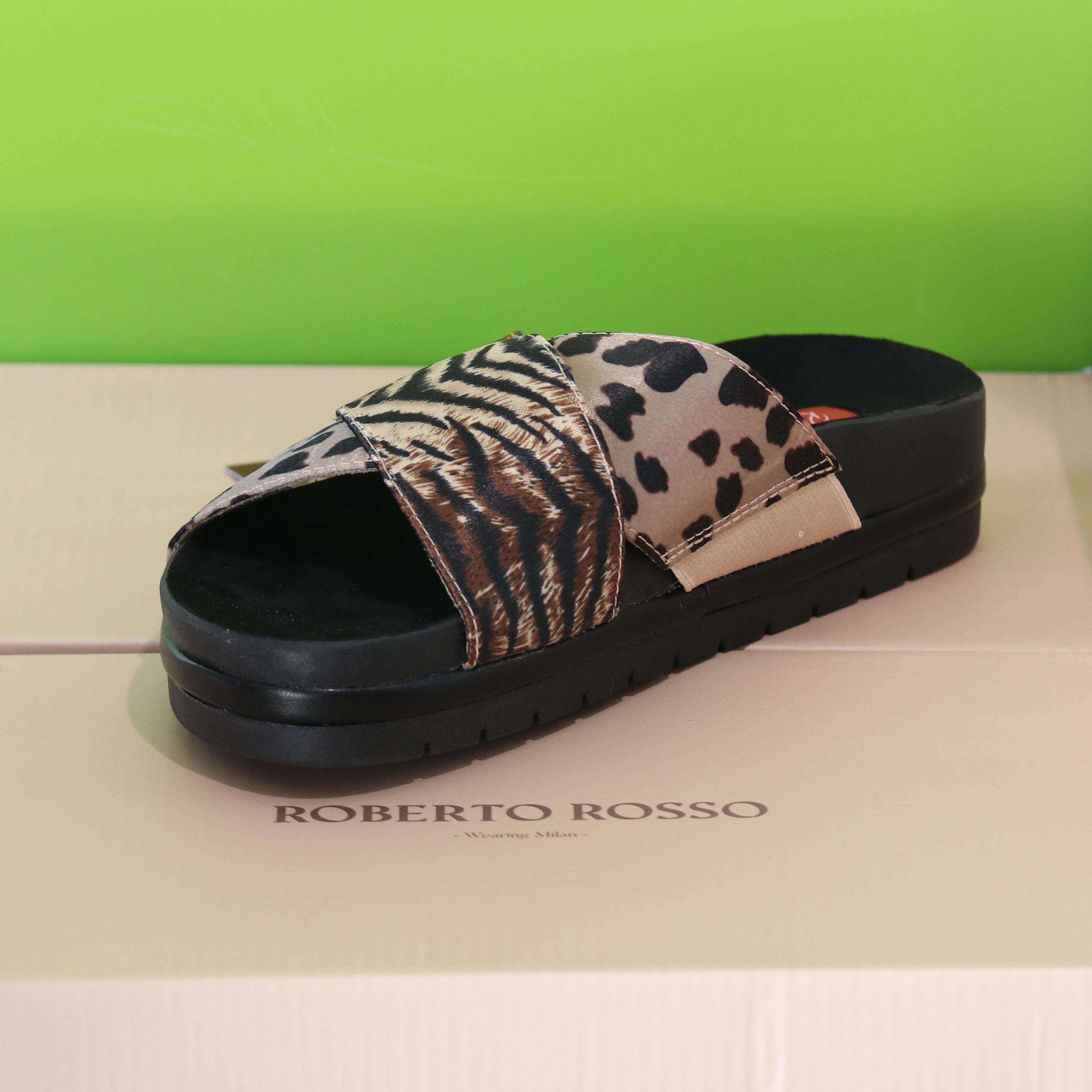 roberto rosso – oreadi leopard slippers sommer dame3