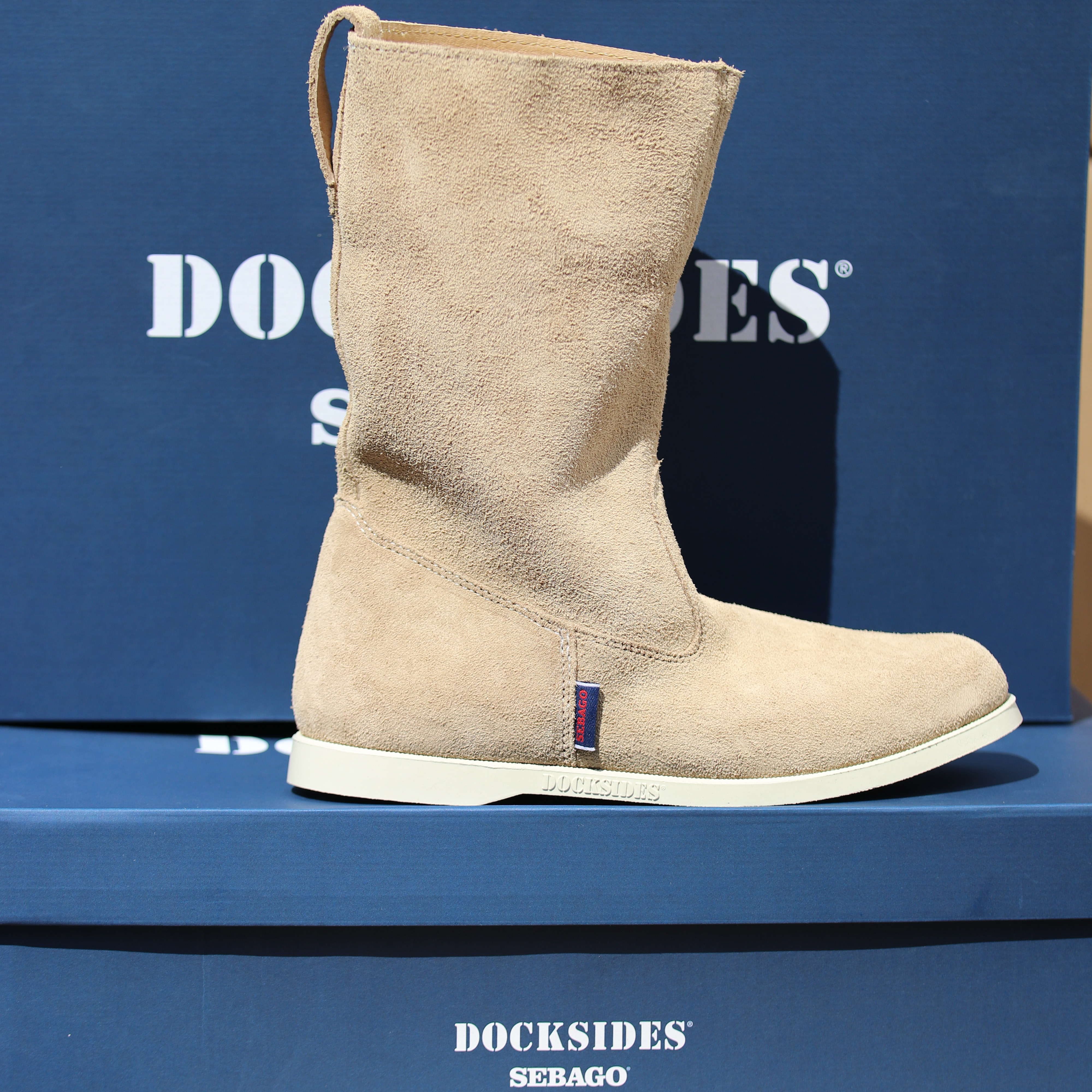 sebago hankø boot suede woman3