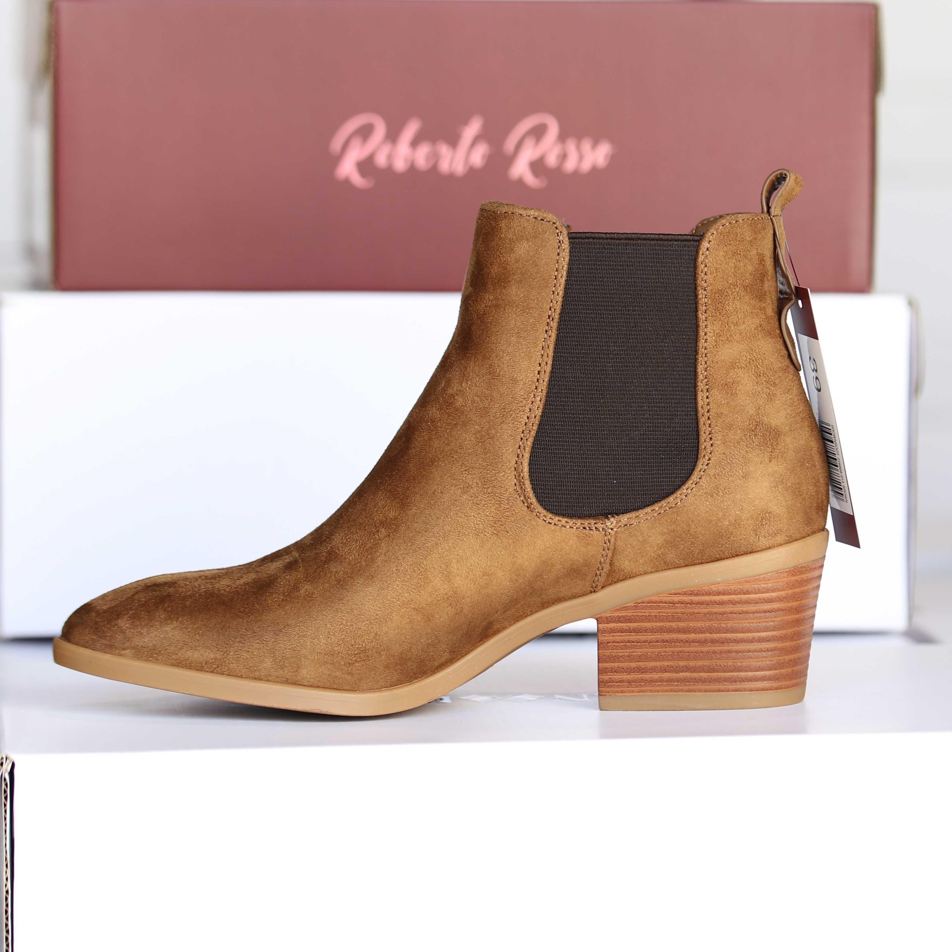 roberto rosso – brownboot brun dame skoletter og boots høst1
