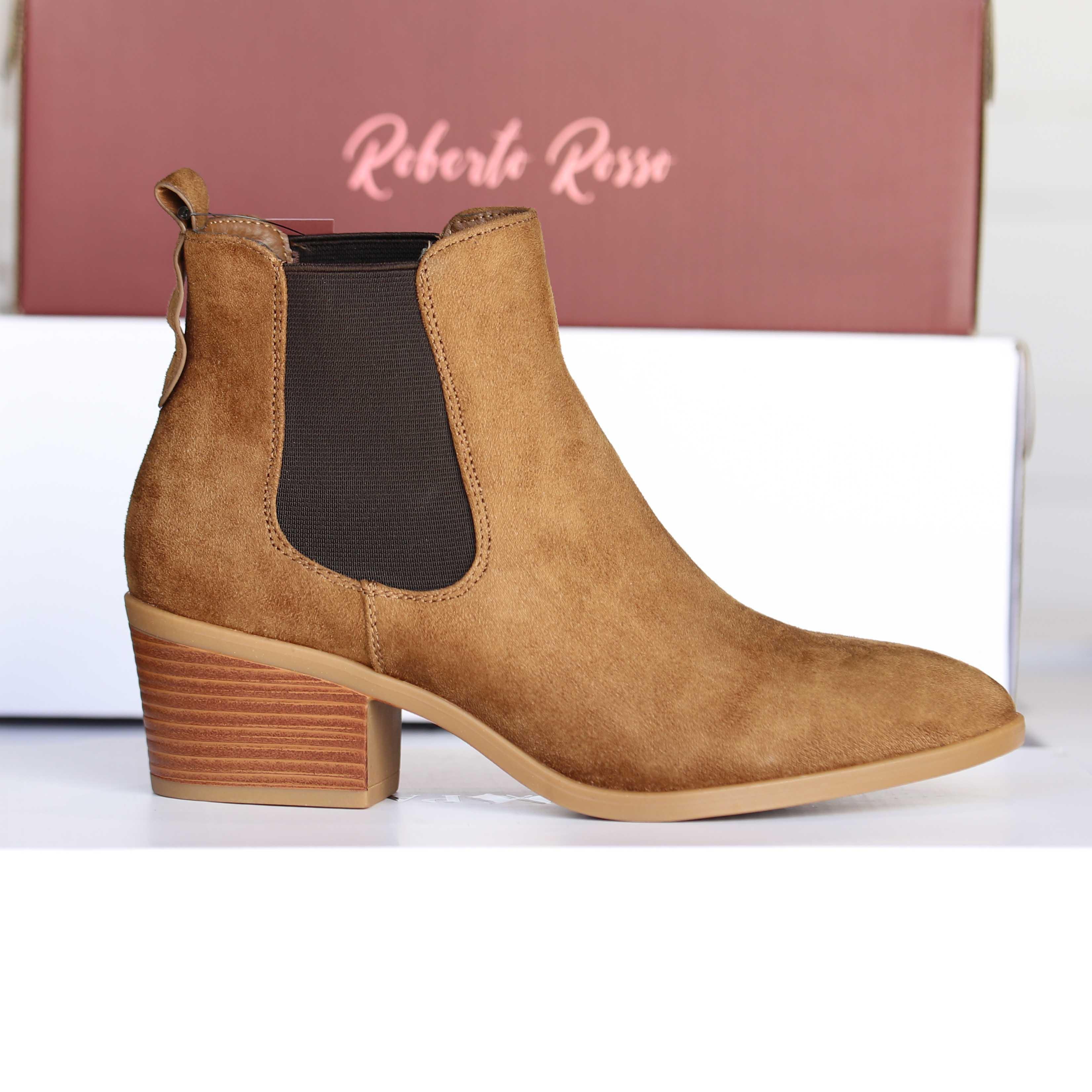 roberto rosso – brownboot brun dame skoletter og boots høst2