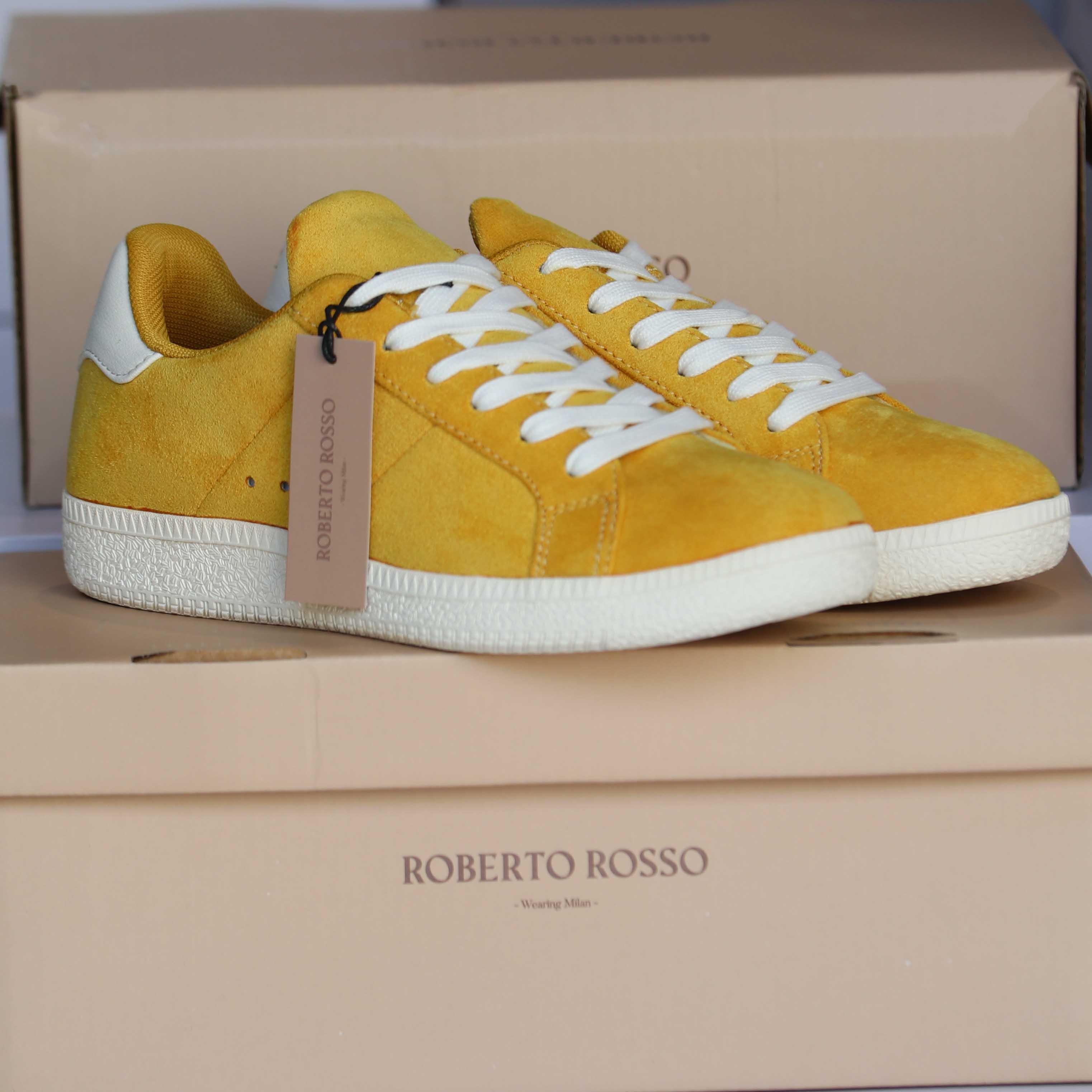 roberto rosso portiva yellow dame sko sommer1