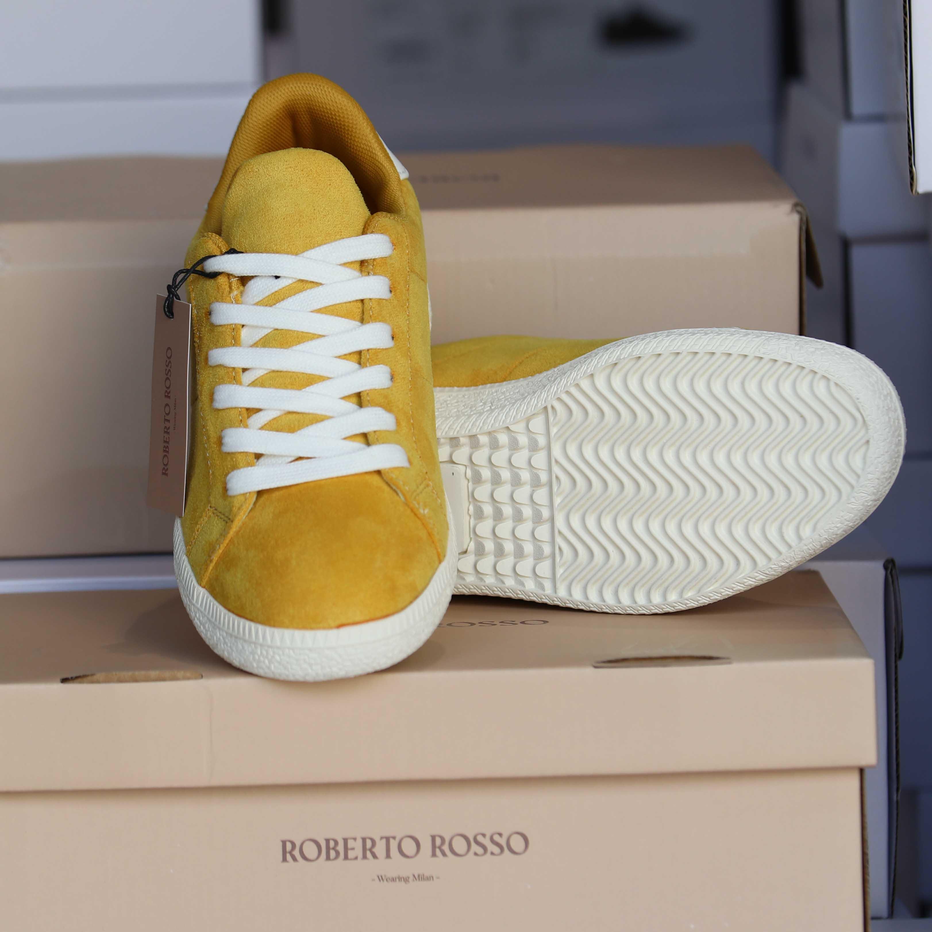 roberto rosso portiva yellow dame sko sommer2