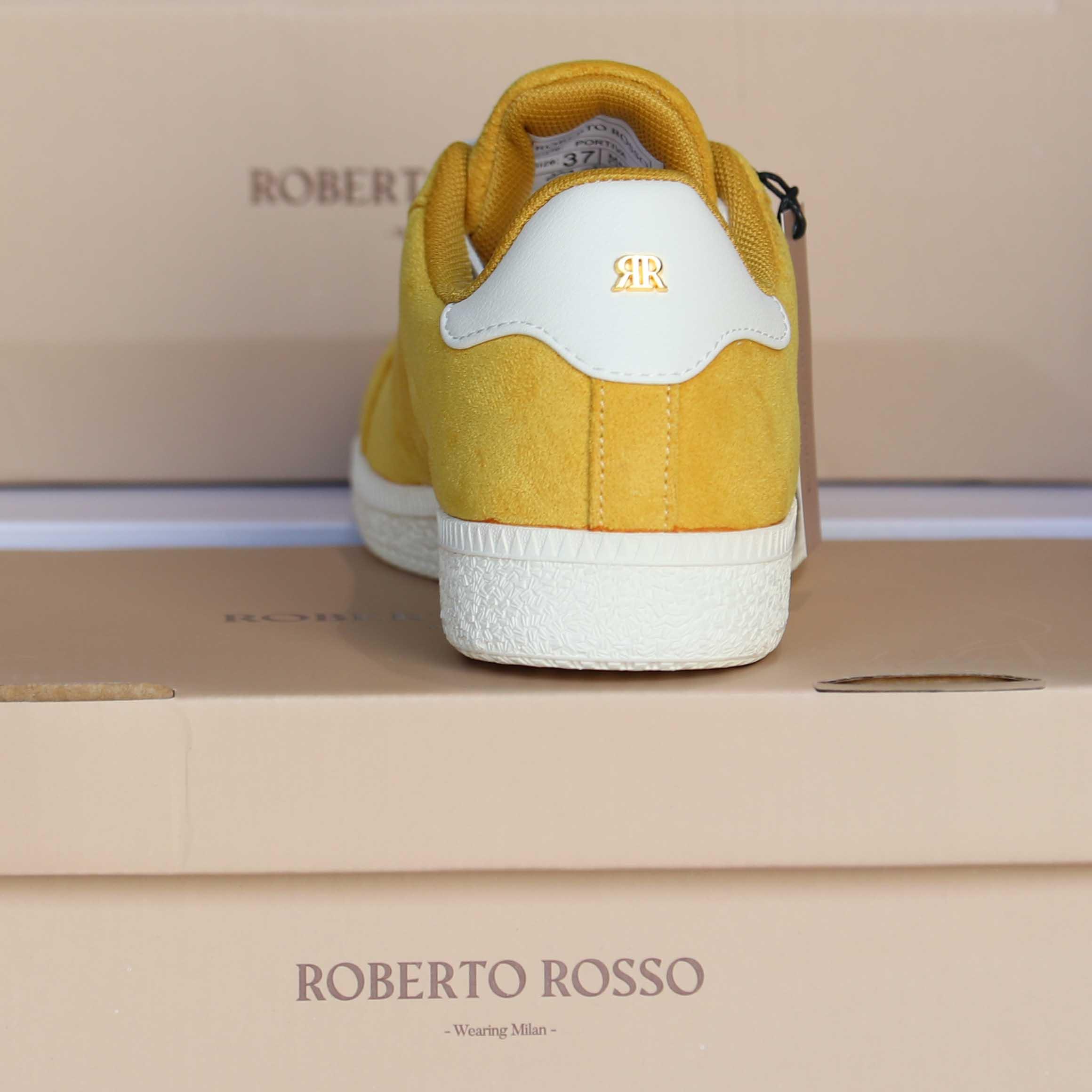 roberto rosso portiva yellow dame sko sommer3