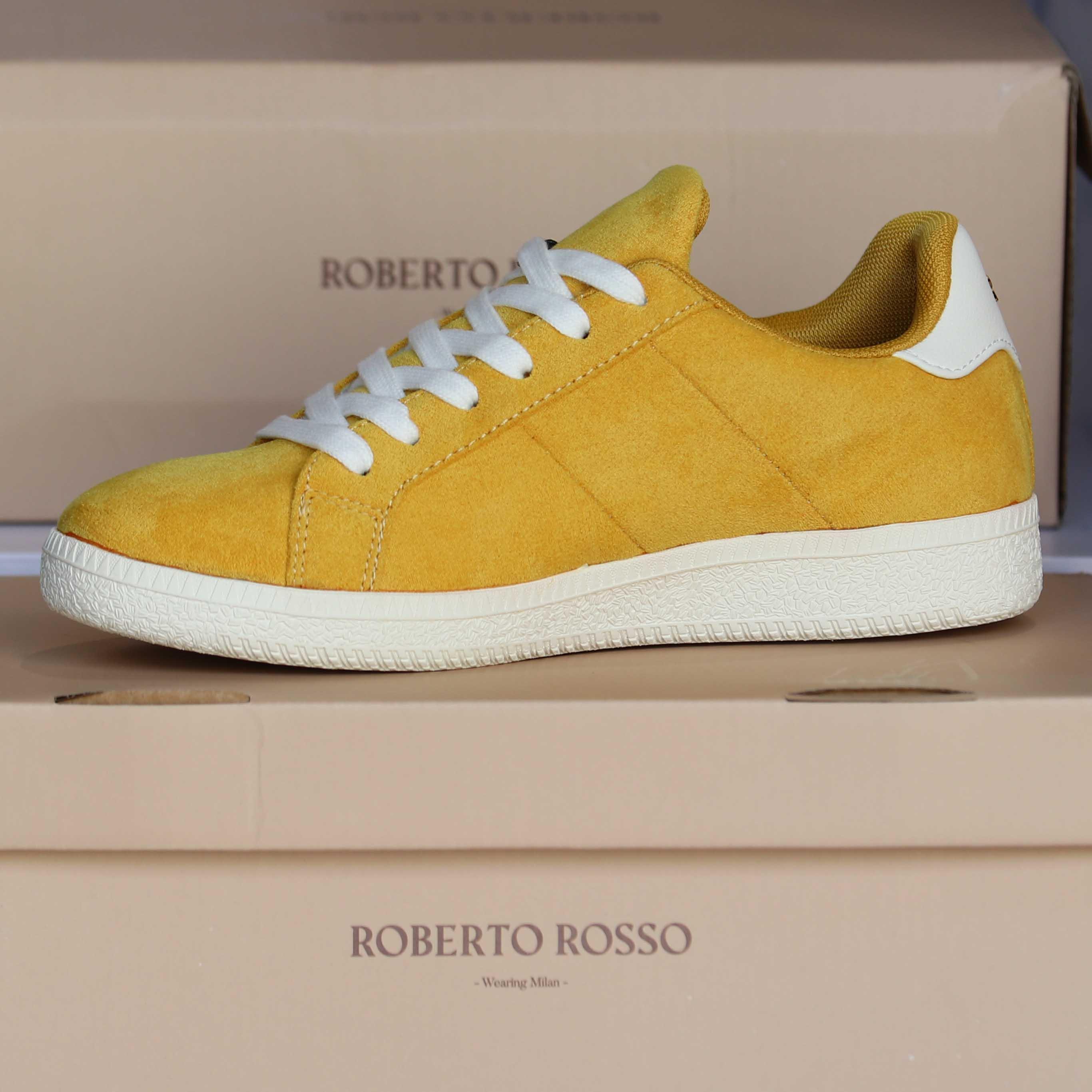 roberto rosso portiva yellow dame sko sommer4