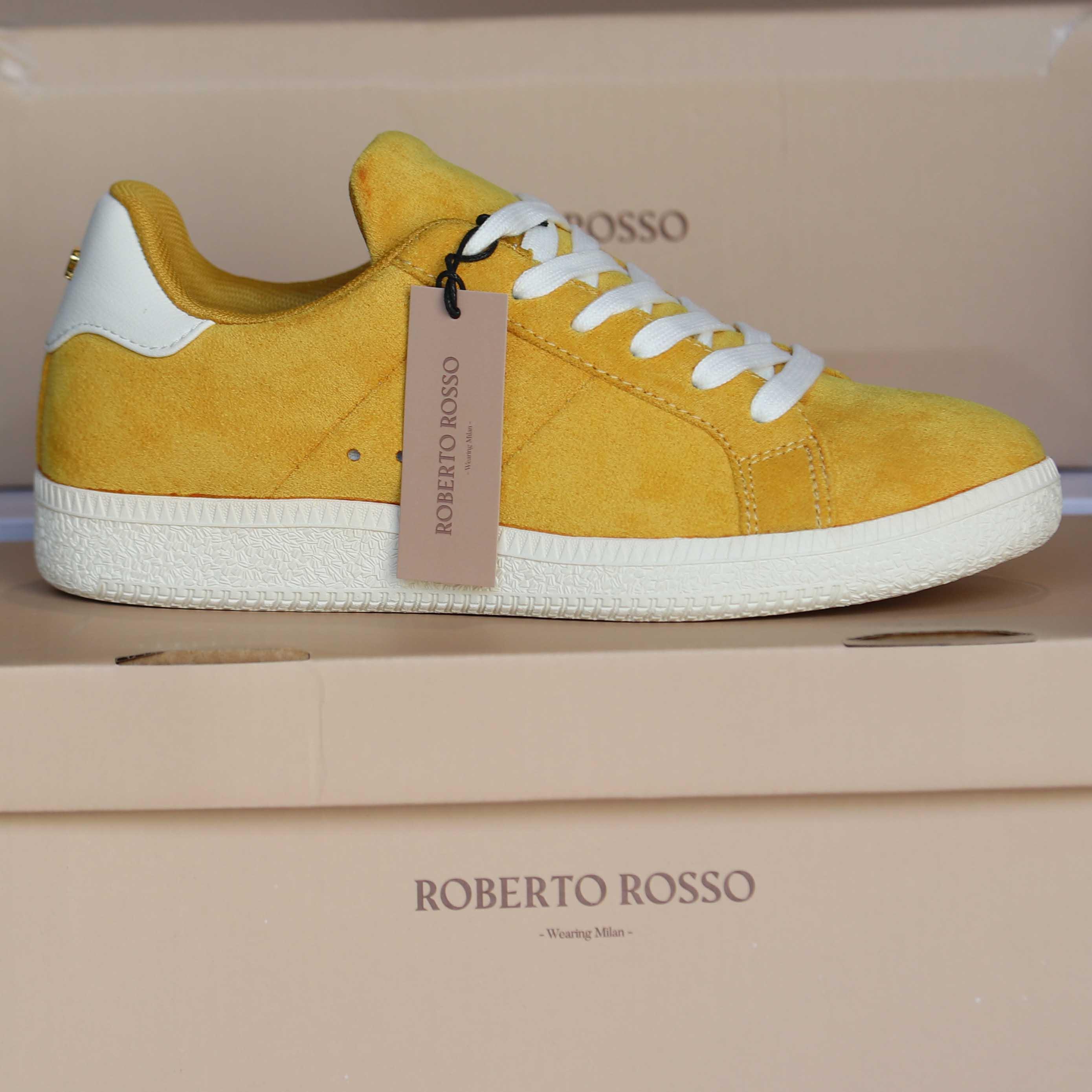 roberto rosso portiva yellow dame sko sommer5