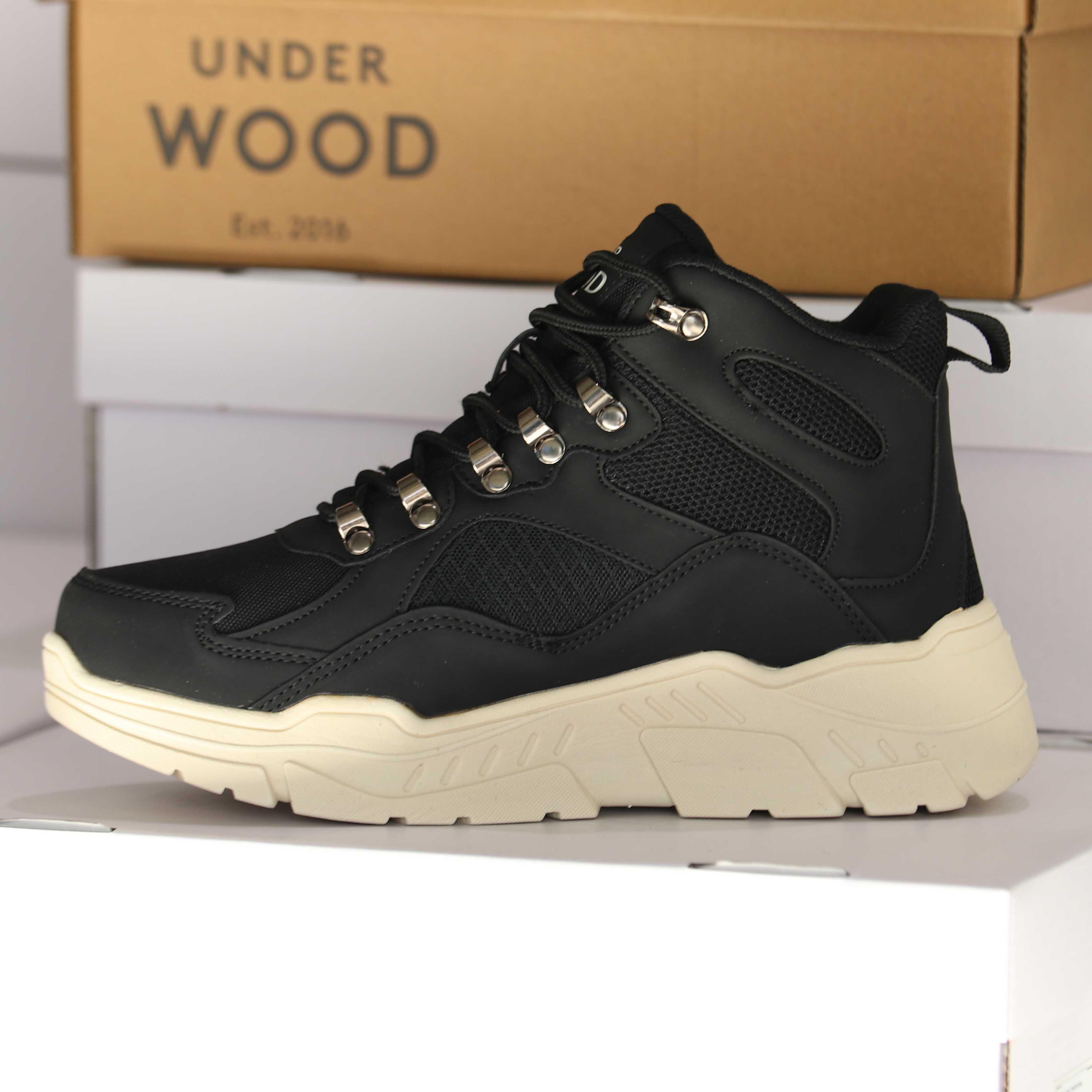under wood – discovery black 25838 dame sko 2