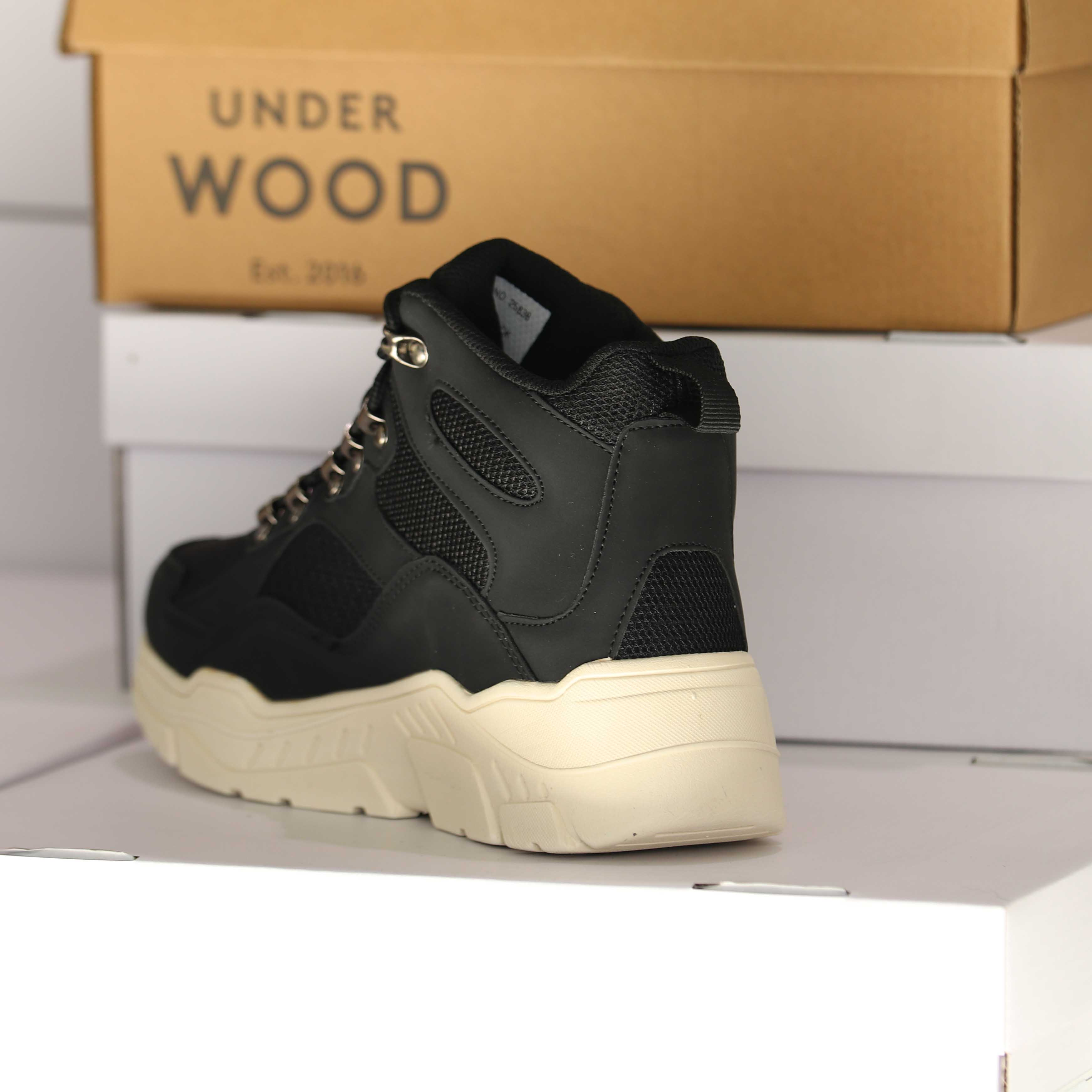 under wood – discovery black 25838 dame sko 3