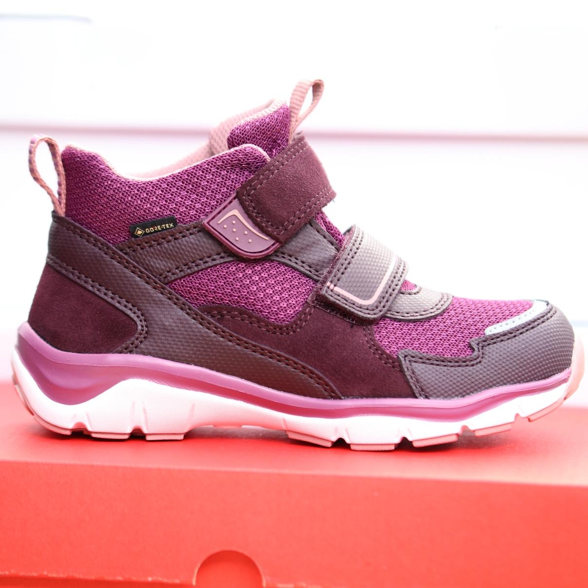 superfit rot rosa barn sko høst1