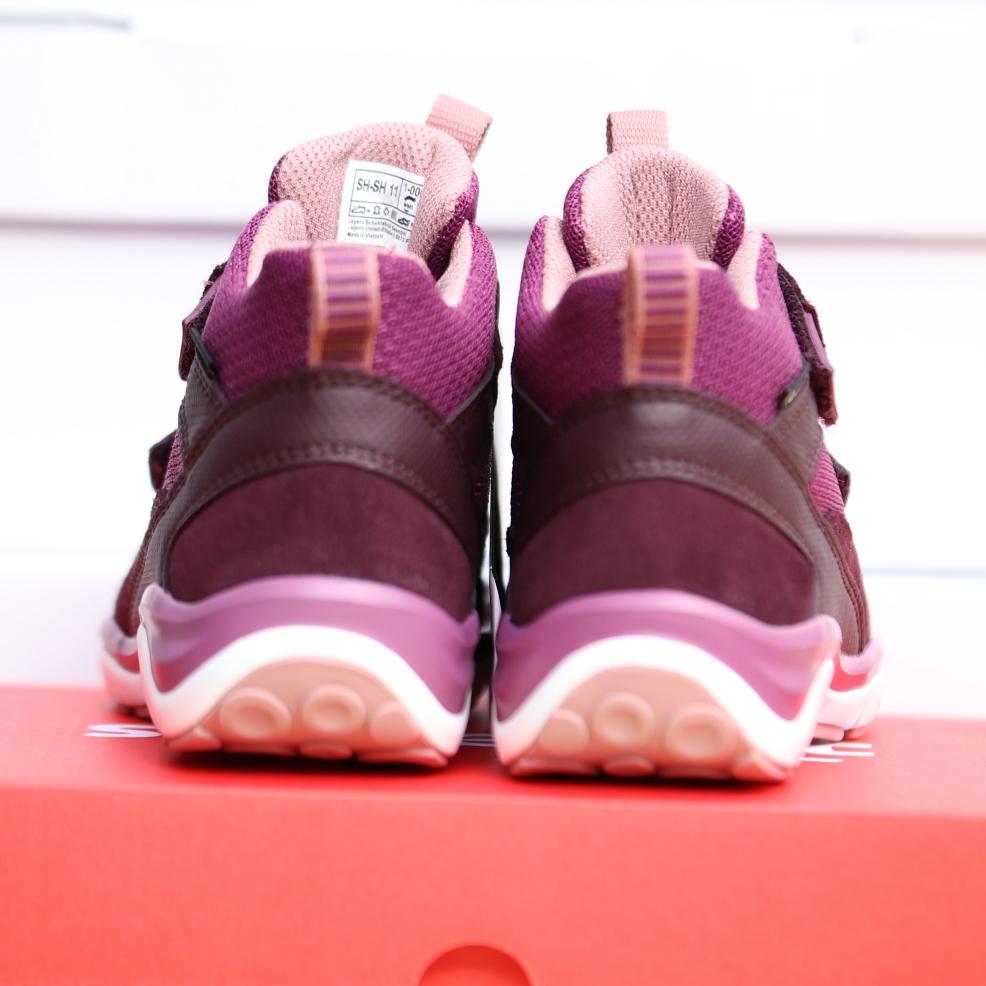 superfit rot rosa barn sko høst2