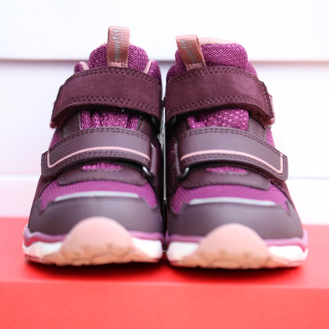 superfit rot rosa barn sko høst5