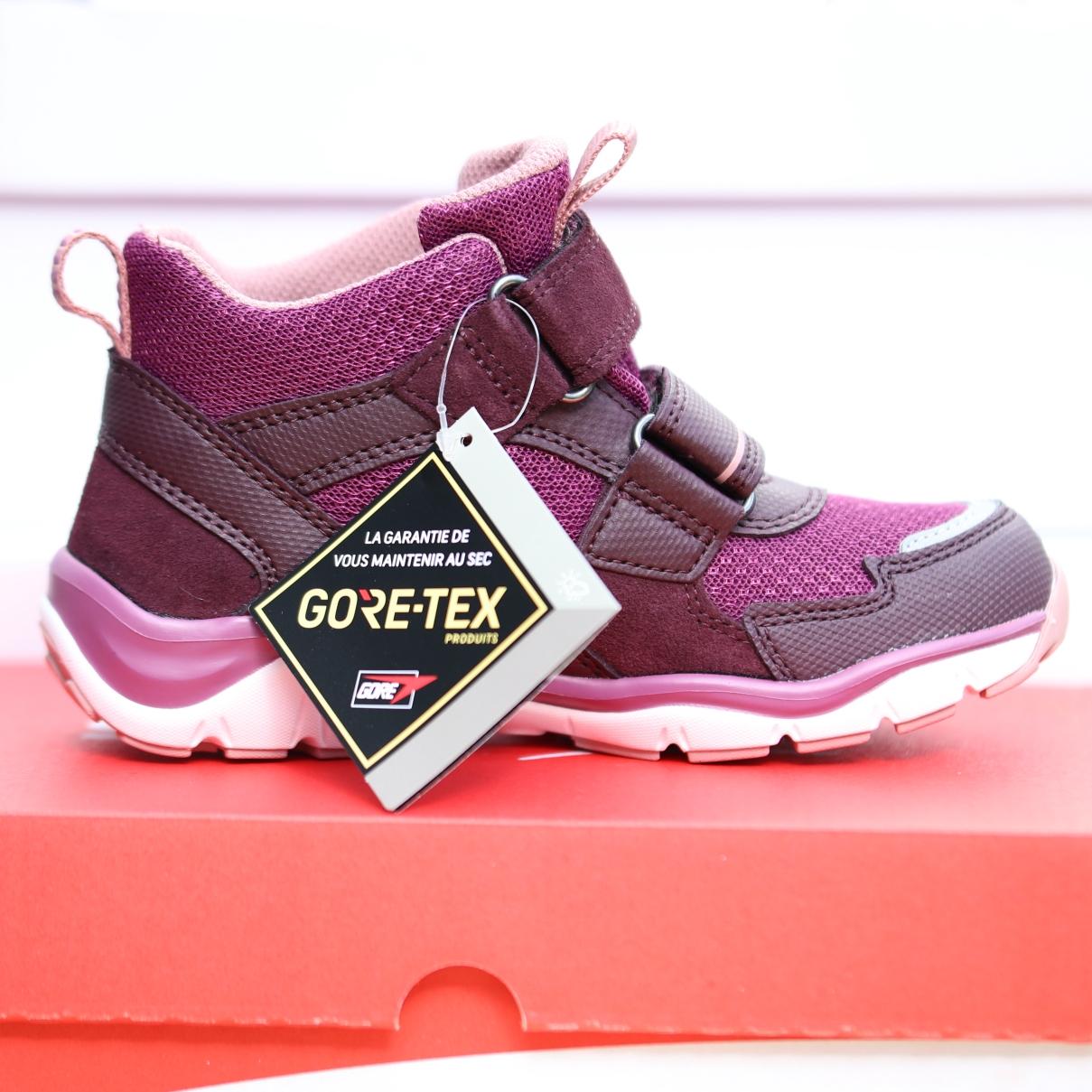 superfit rot rosa barn sko høst6