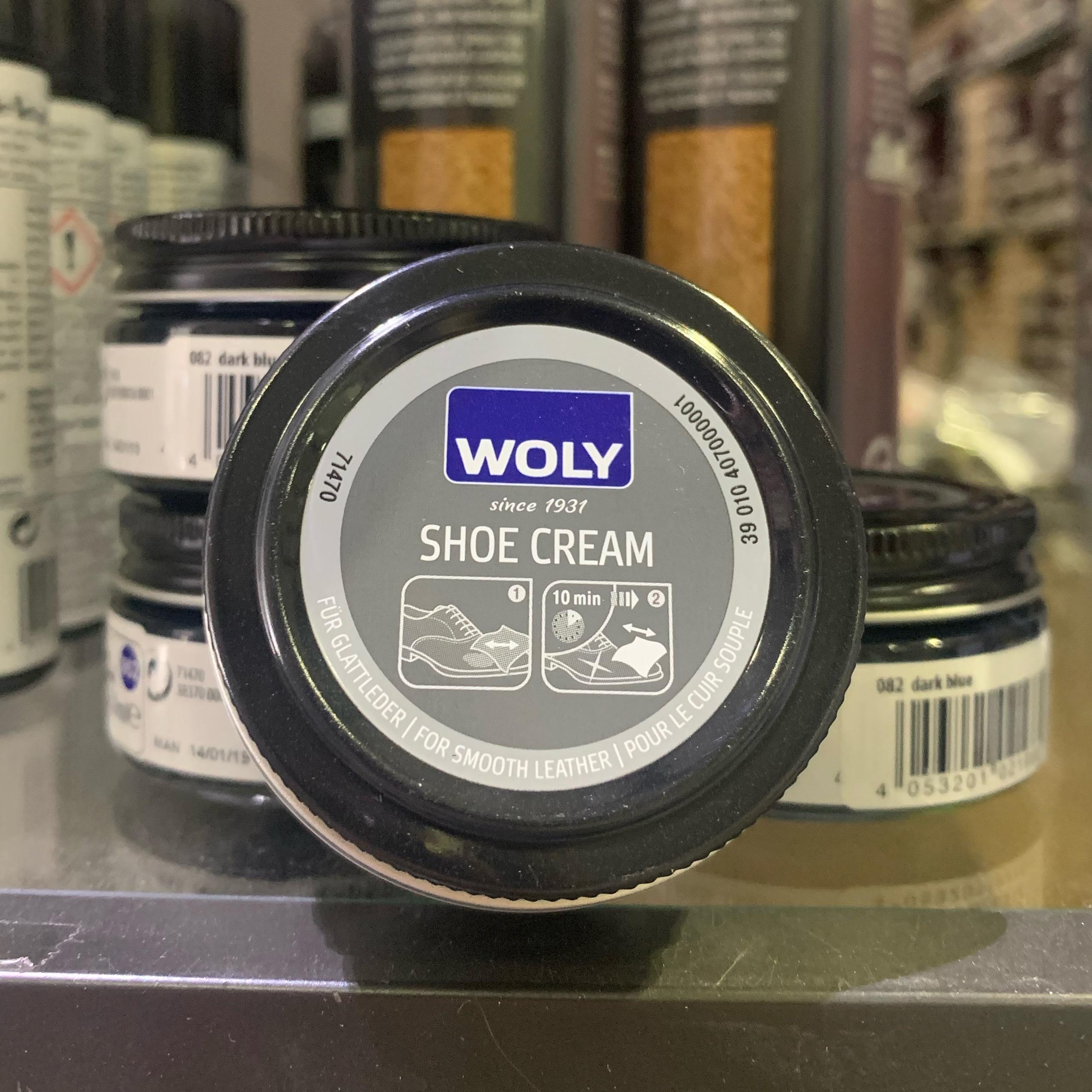 woly shoe cream 50 dark blue